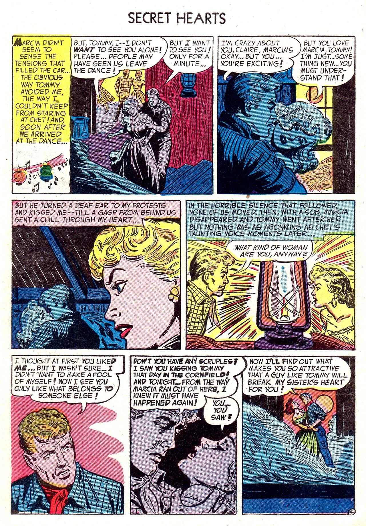Read online Secret Hearts comic -  Issue #20 - 6