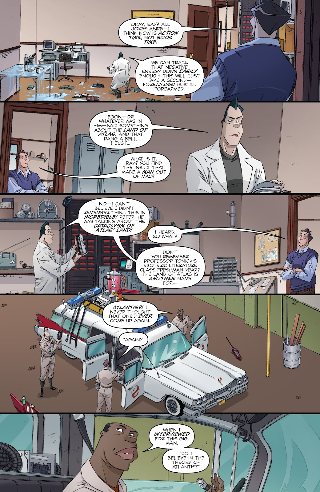 Read online Ghostbusters 35th Anniversary: Ghostbusters comic -  Issue # Full - 10