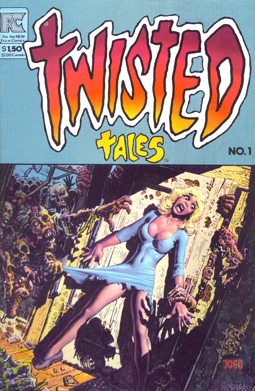 Read online Twisted Tales (1982) comic -  Issue #1 - 1