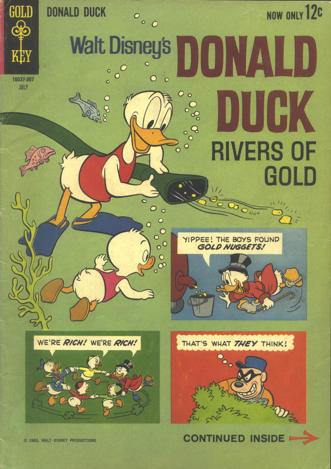 Walt Disney's Donald Duck (1952) issue 89 - Page 1