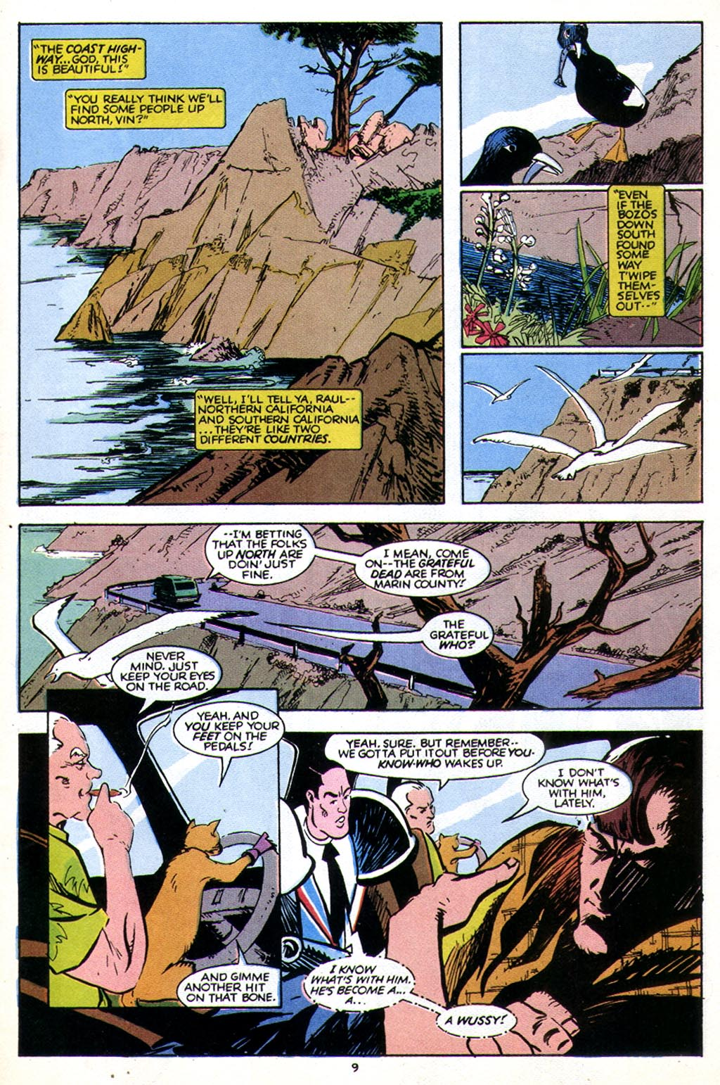 Read online American Flagg! comic -  Issue #43 - 11
