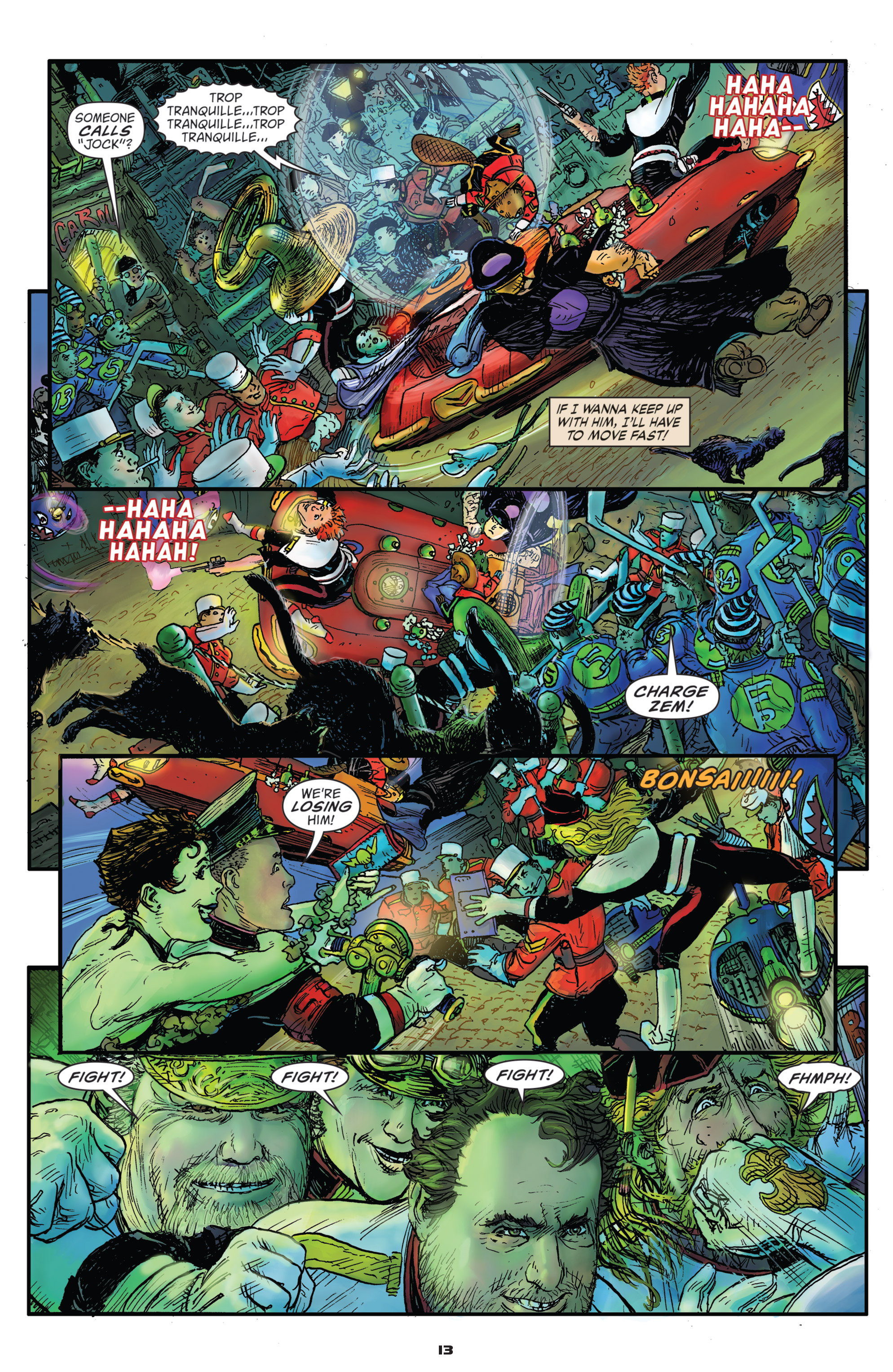 Read online Starstruck: Old Proldiers Never Die comic -  Issue #5 - 14