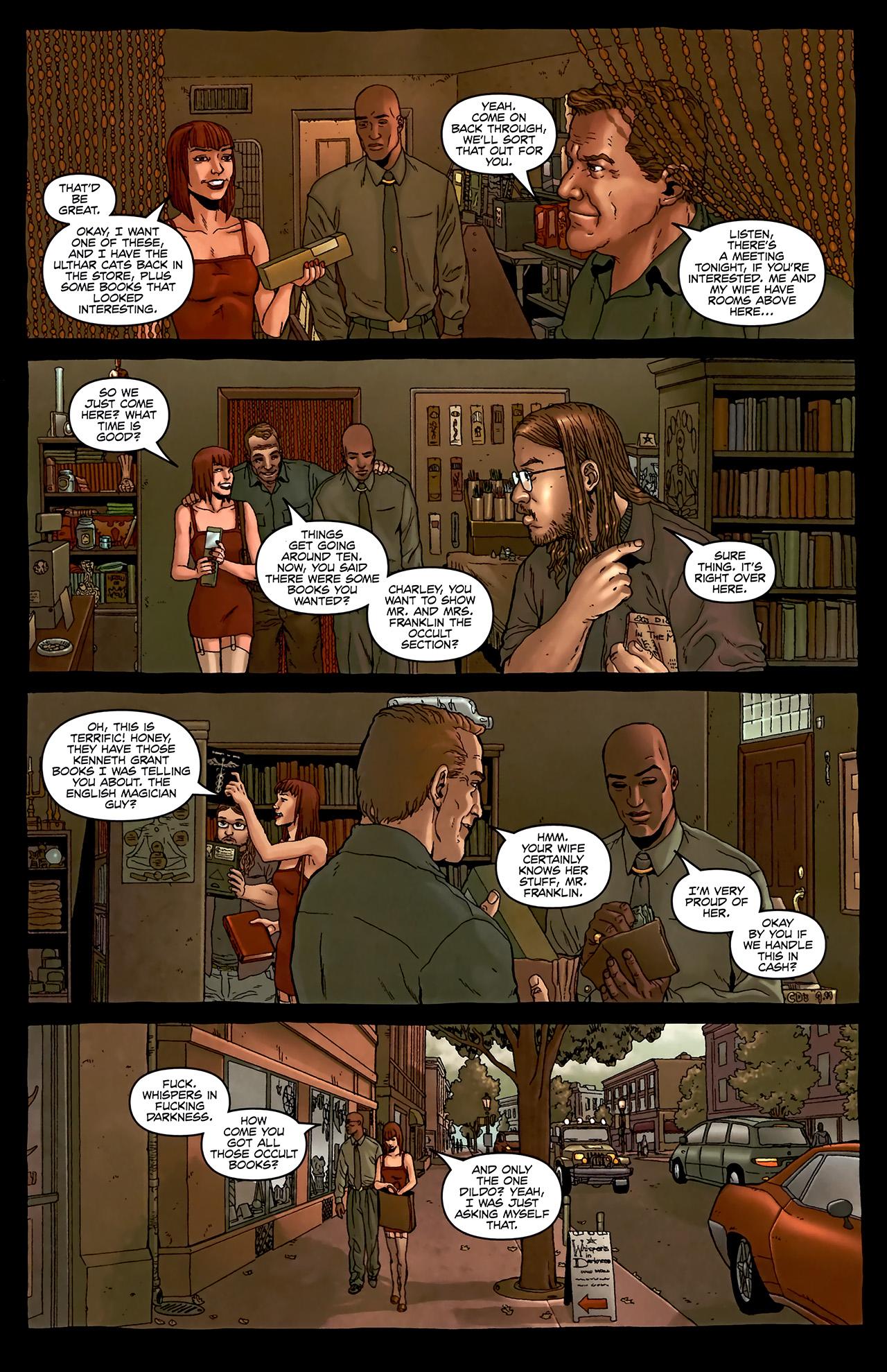 Read online Alan Moore's Neonomicon comic -  Issue #2 - 17