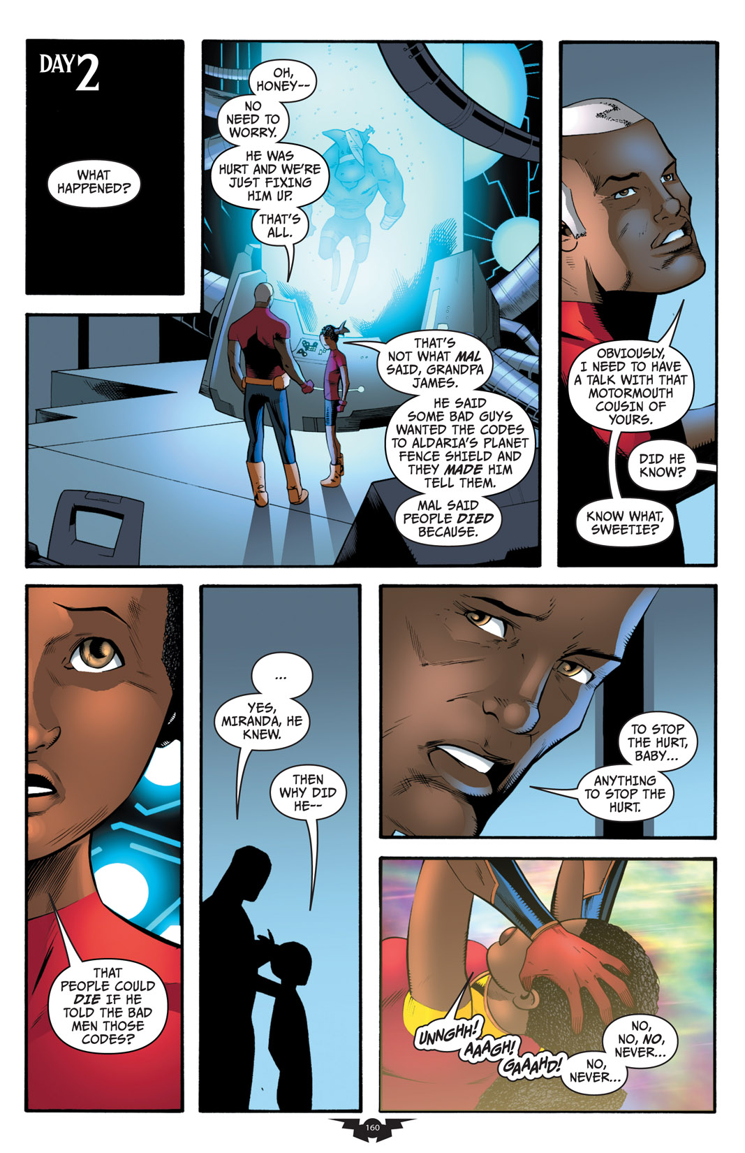 Read online The Many Adventures of Miranda Mercury: Time Runs Out comic -  Issue # TPB - 159