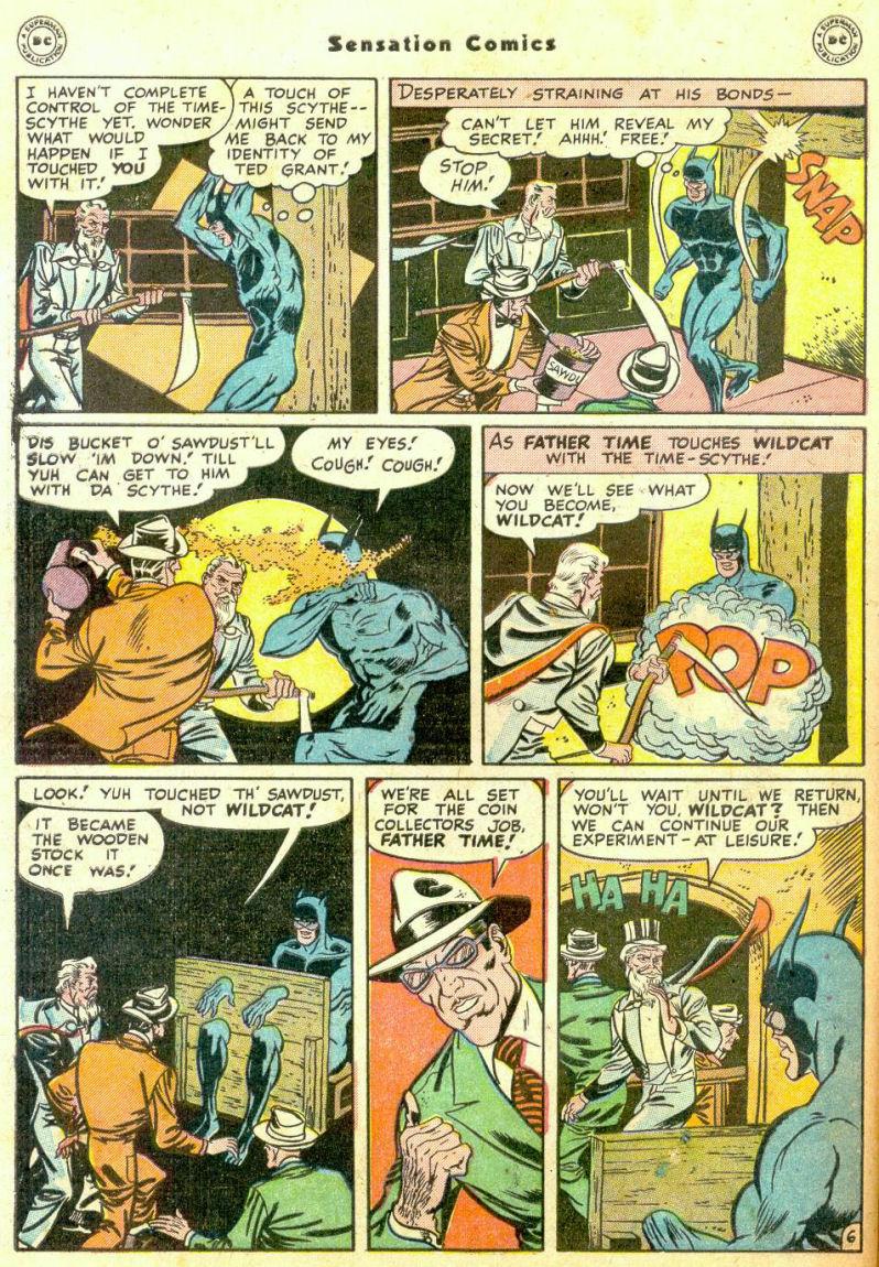 Read online Sensation (Mystery) Comics comic -  Issue #74 - 48
