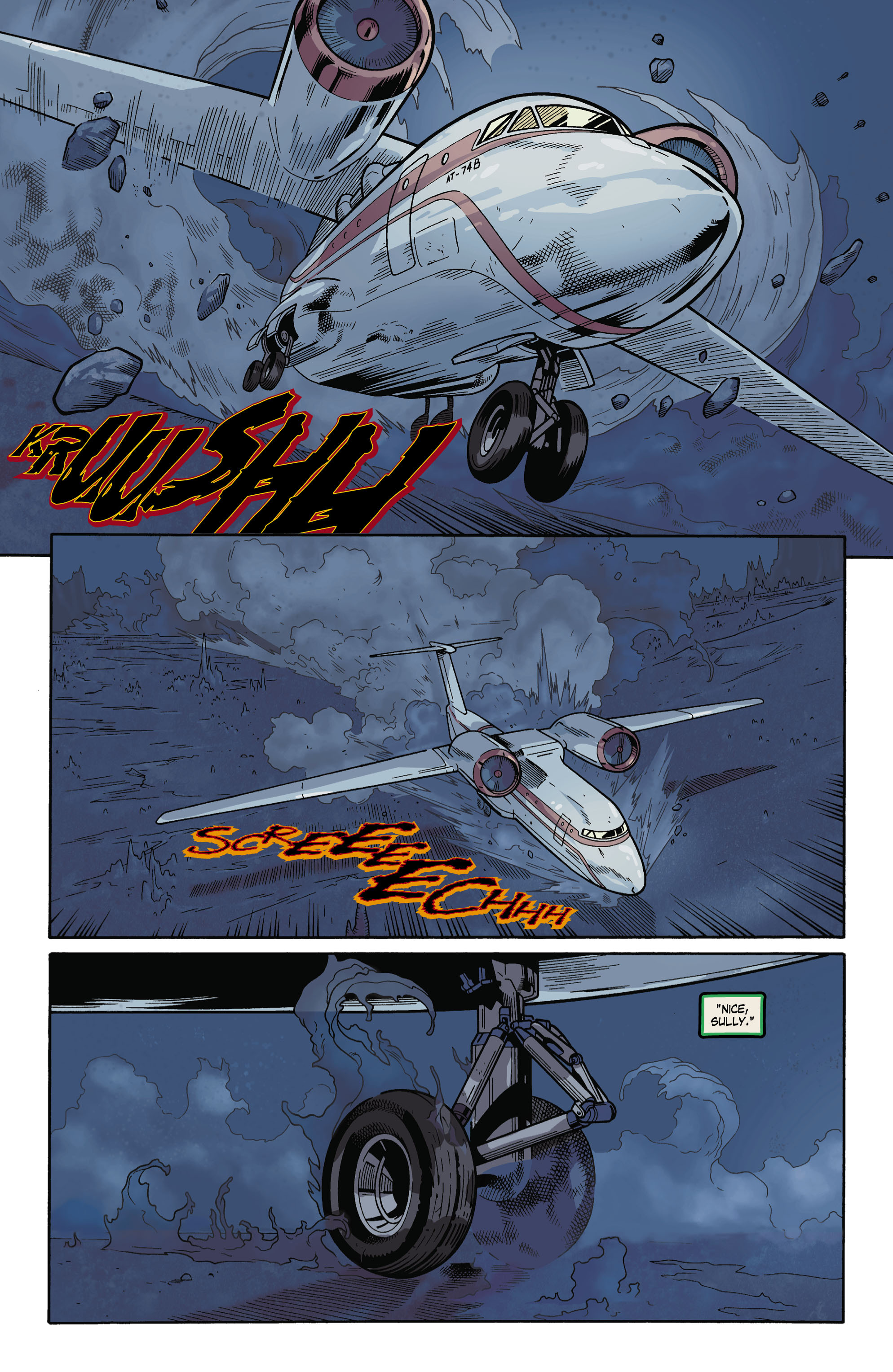 Read online Uncharted comic -  Issue #3 - 18