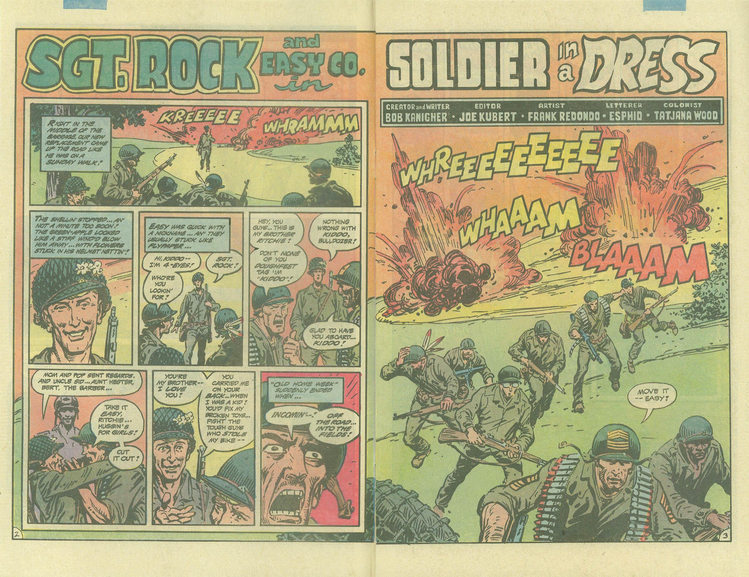 Read online Sgt. Rock comic -  Issue #393 - 3