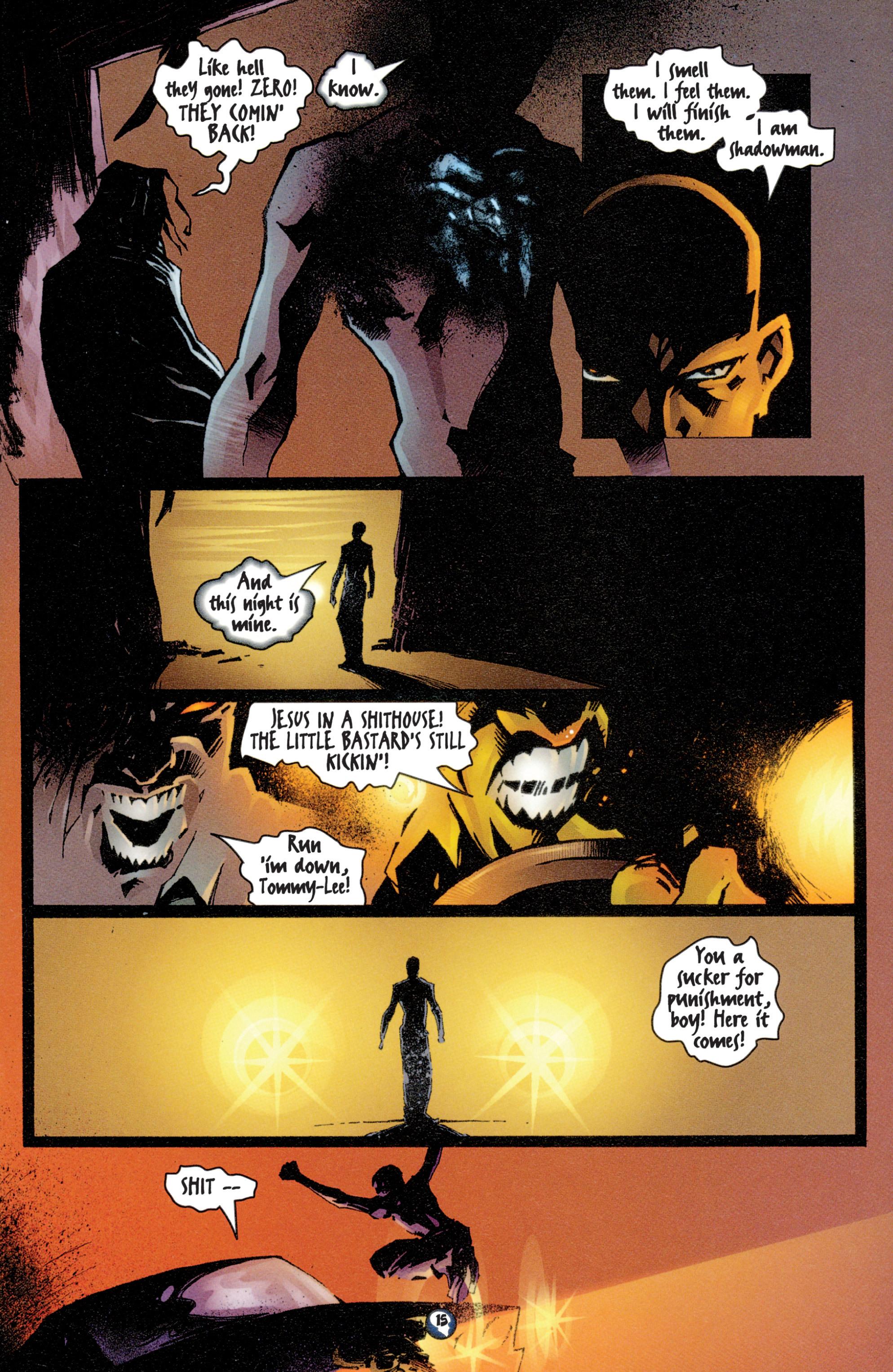 Read online Shadowman (1997) comic -  Issue #4 - 13