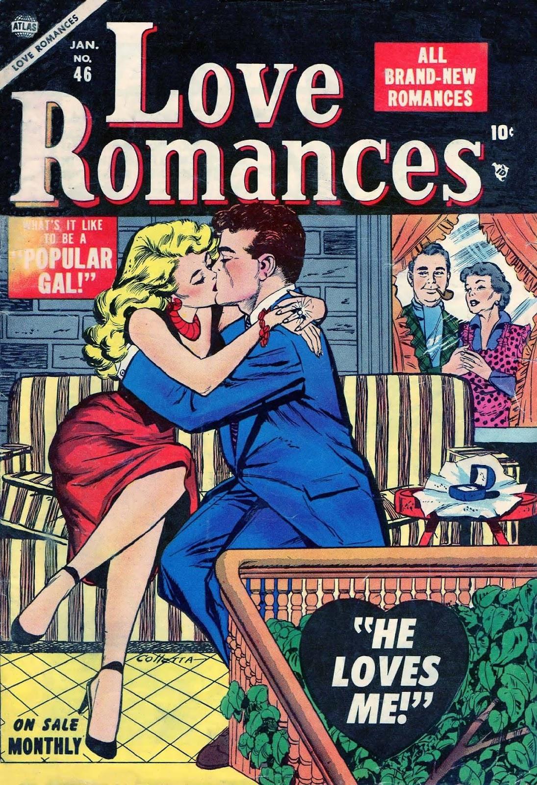 Love Romances (1949) issue 46 - Page 1