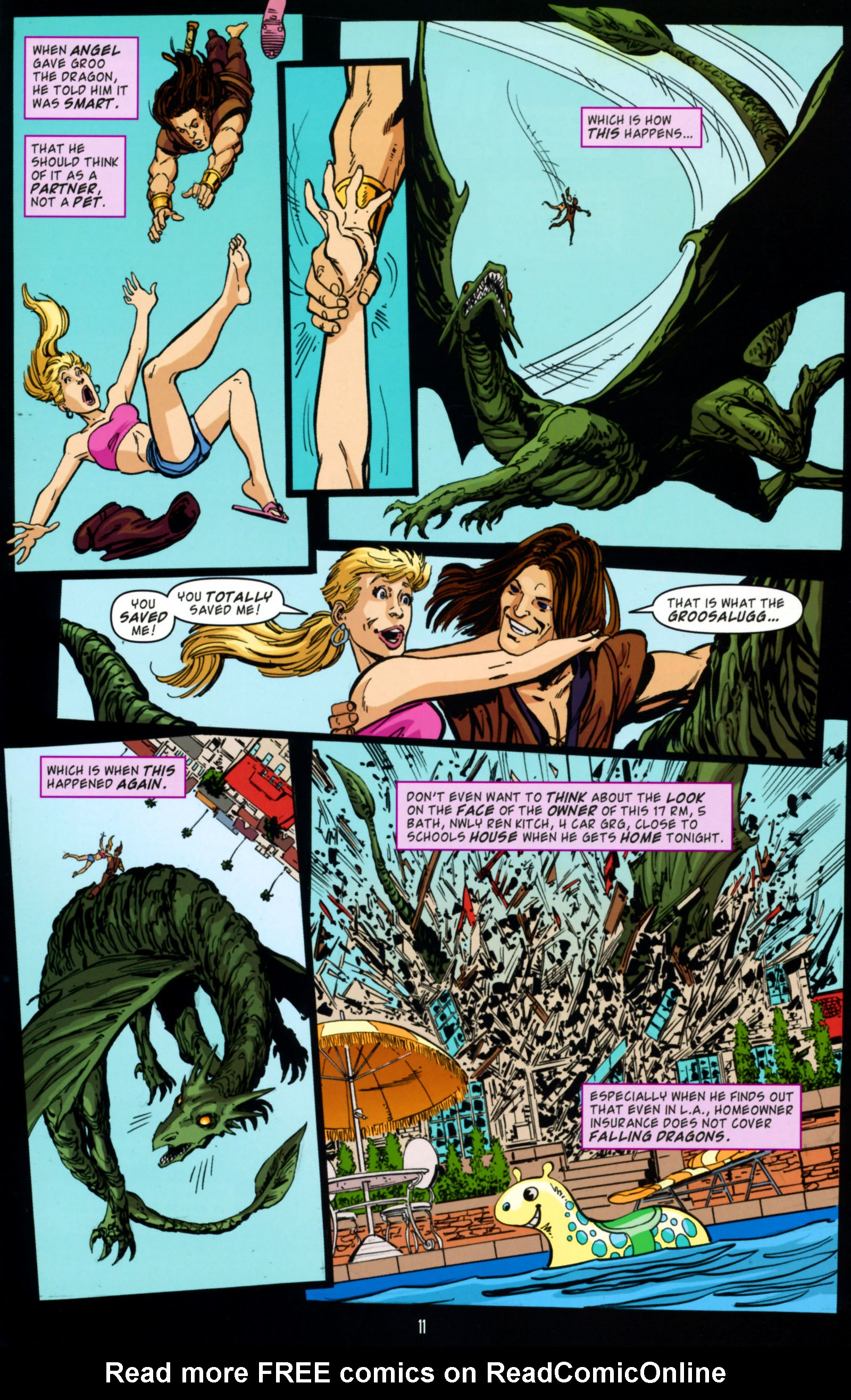 Read online Angel Special: Lorne comic -  Issue # Full - 12