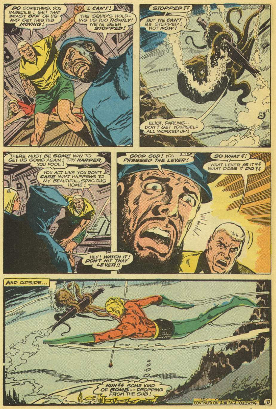 Read online Aquaman (1962) comic -  Issue #53 - 22