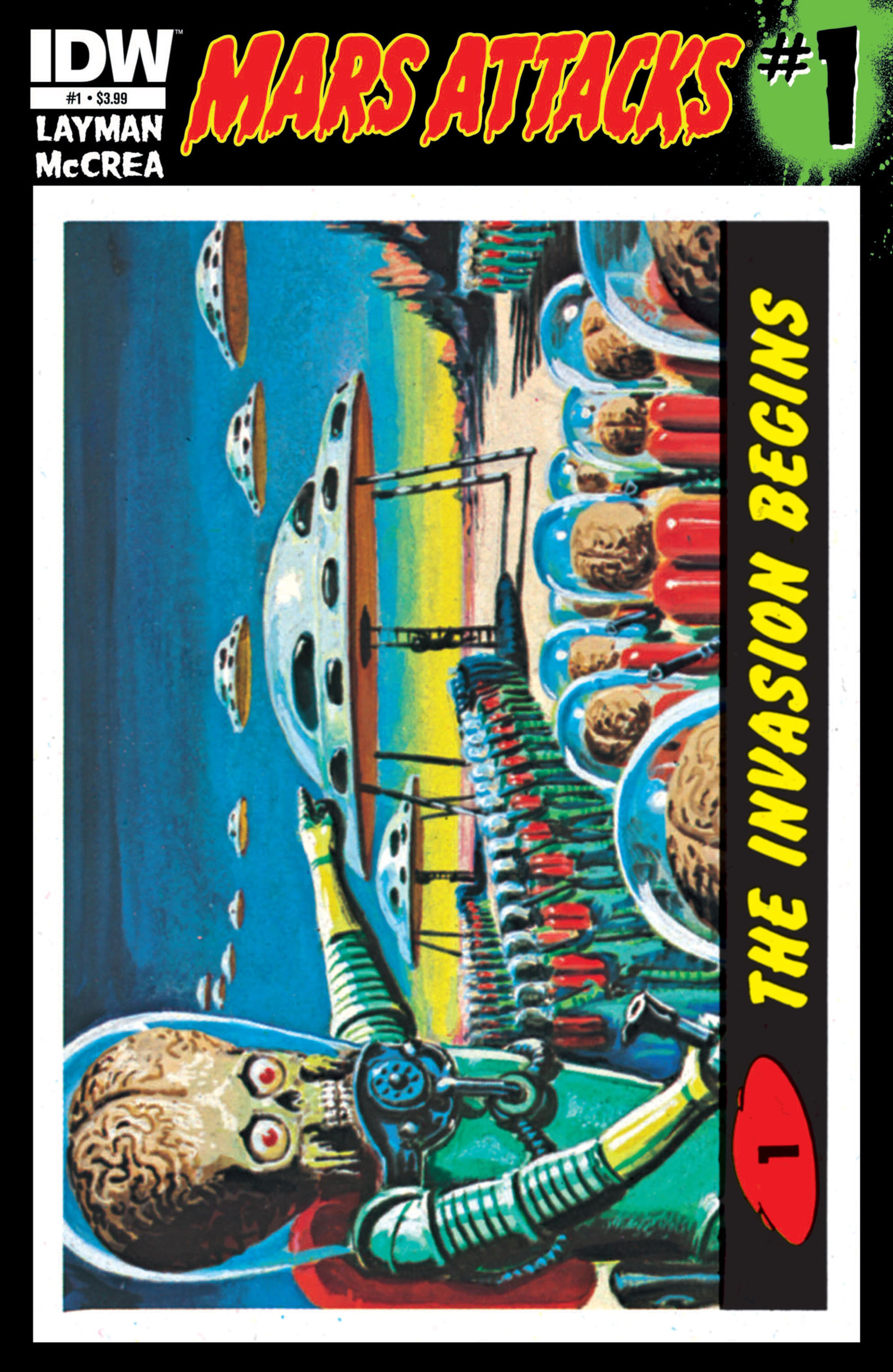 Mars Attacks (2012) issue 1 - Page 1