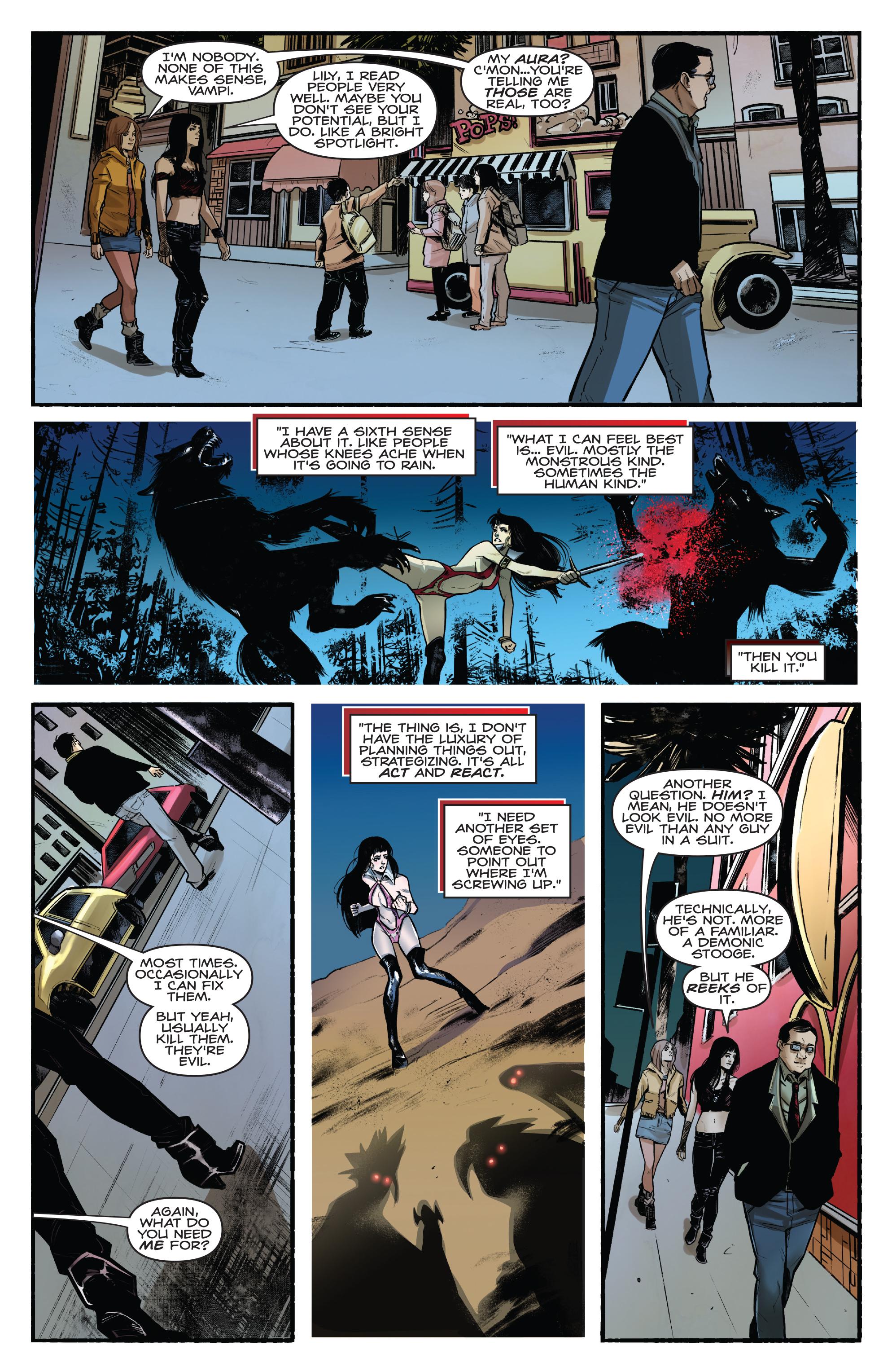 Read online Kiss/Vampirella comic -  Issue #1 - 22