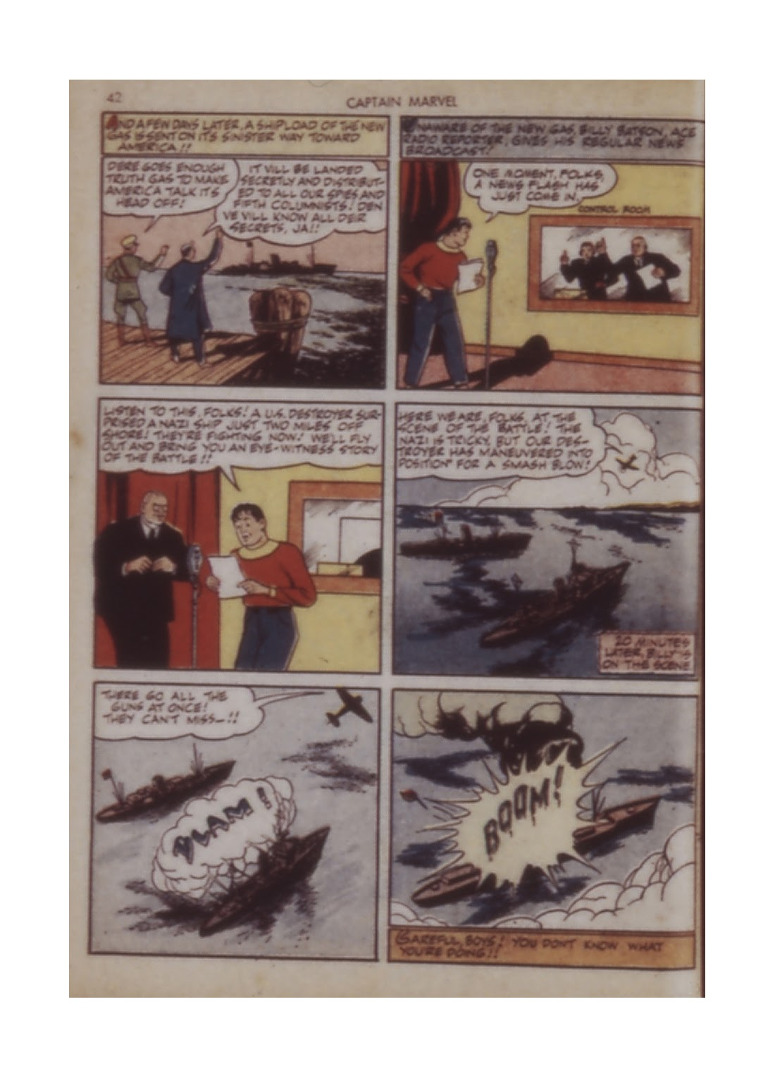 Captain Marvel Adventures issue 12 - Page 42