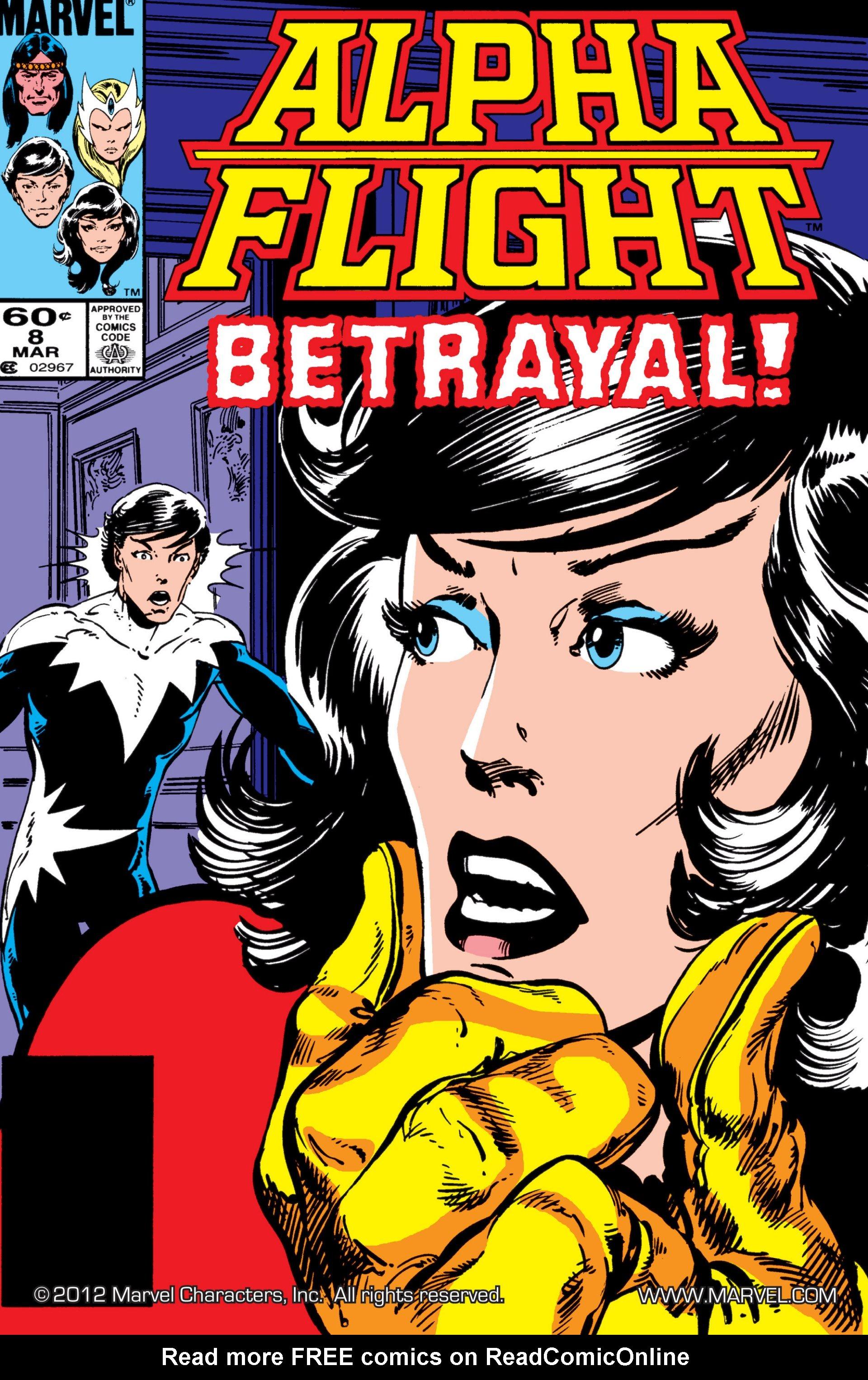 Read online Alpha Flight (1983) comic -  Issue #8 - 1