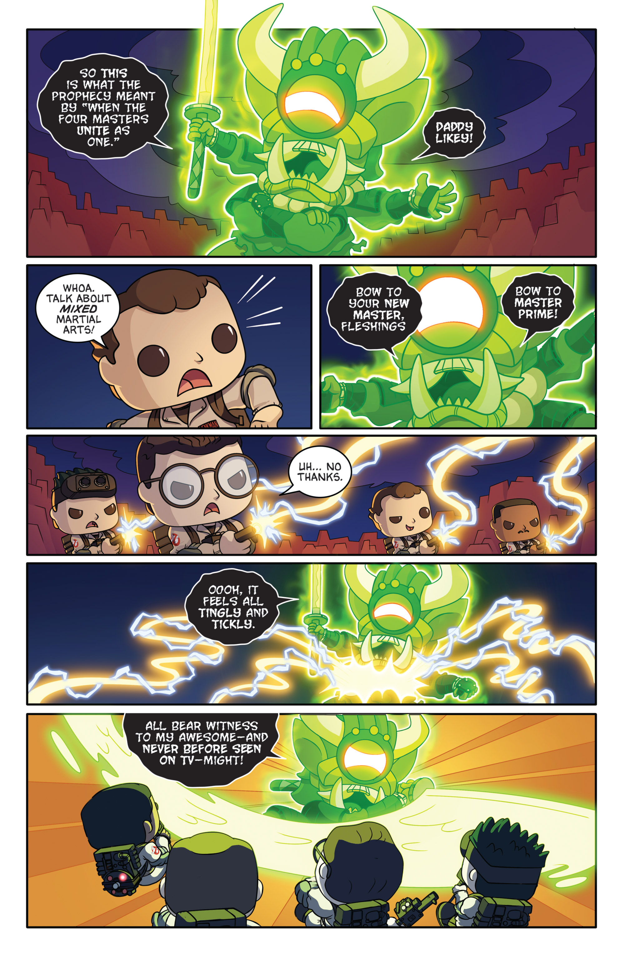 Read online Ghostbusters Funko Universe comic -  Issue # Full - 21