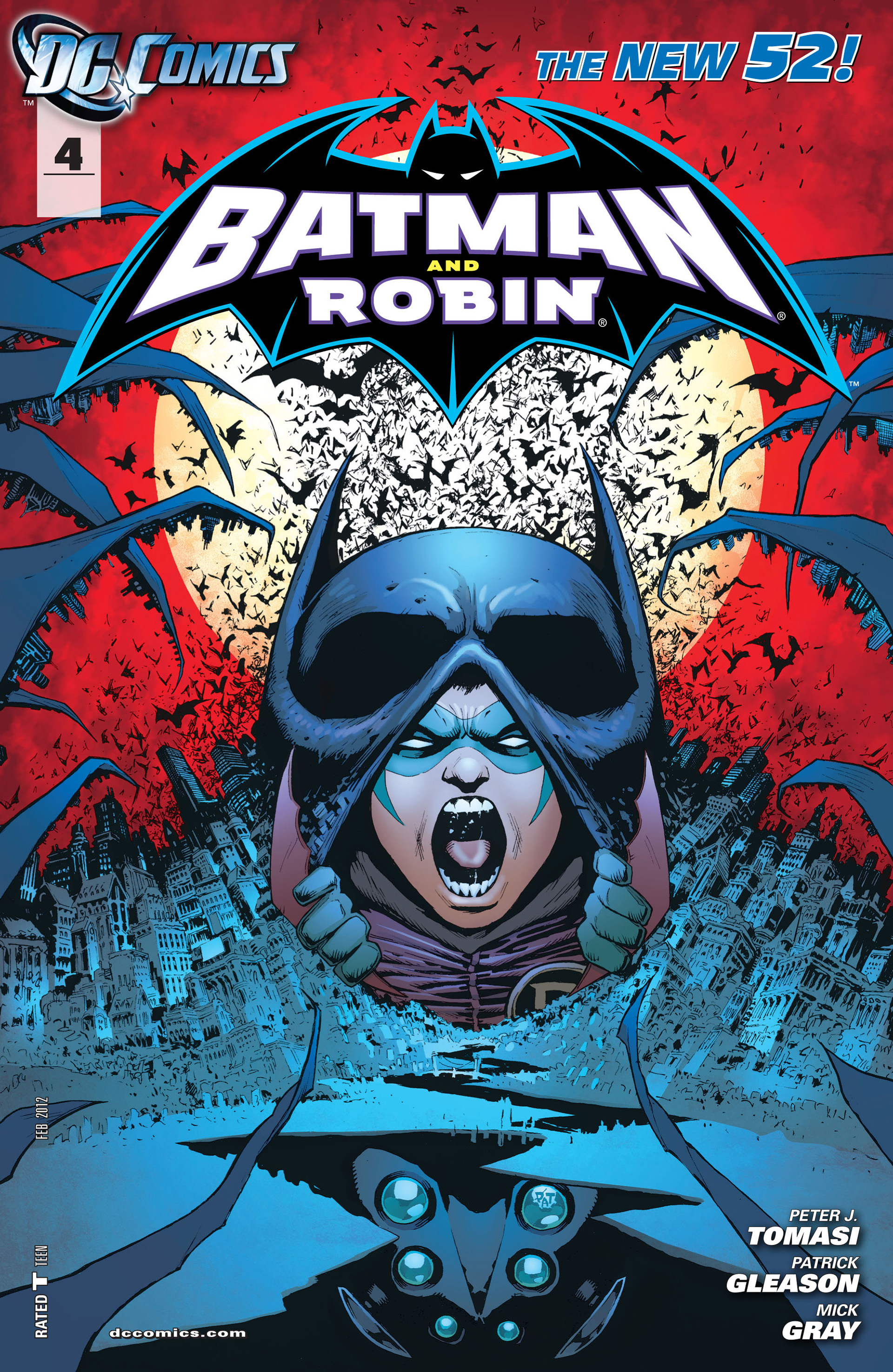 Read online Batman and Robin (2011) comic -  Issue #4 - 1