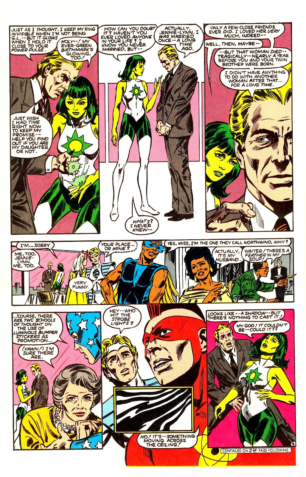 Infinity Inc. (1984) issue Annual 1 - Page 5