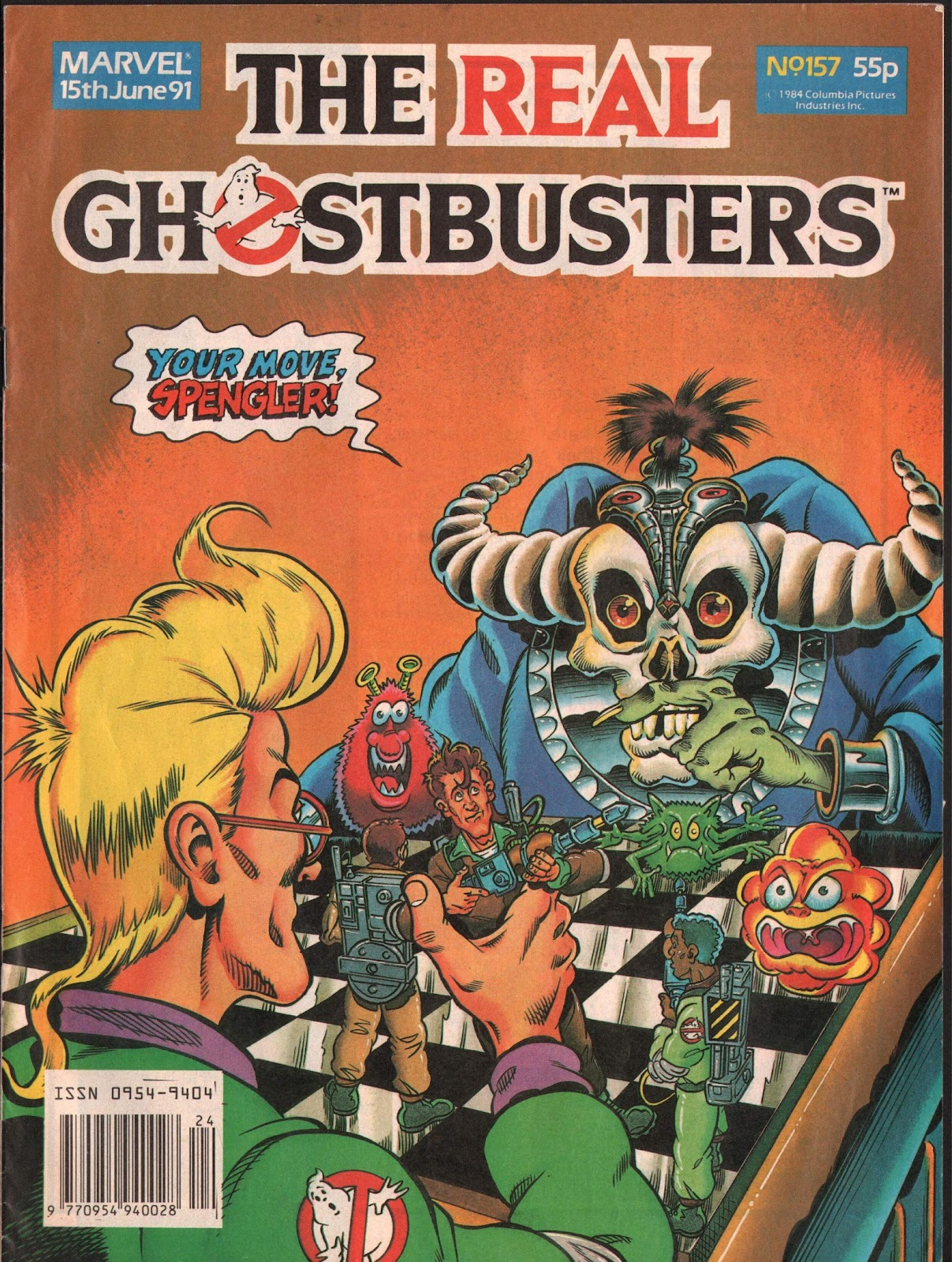 The Real Ghostbusters 157 Page 1