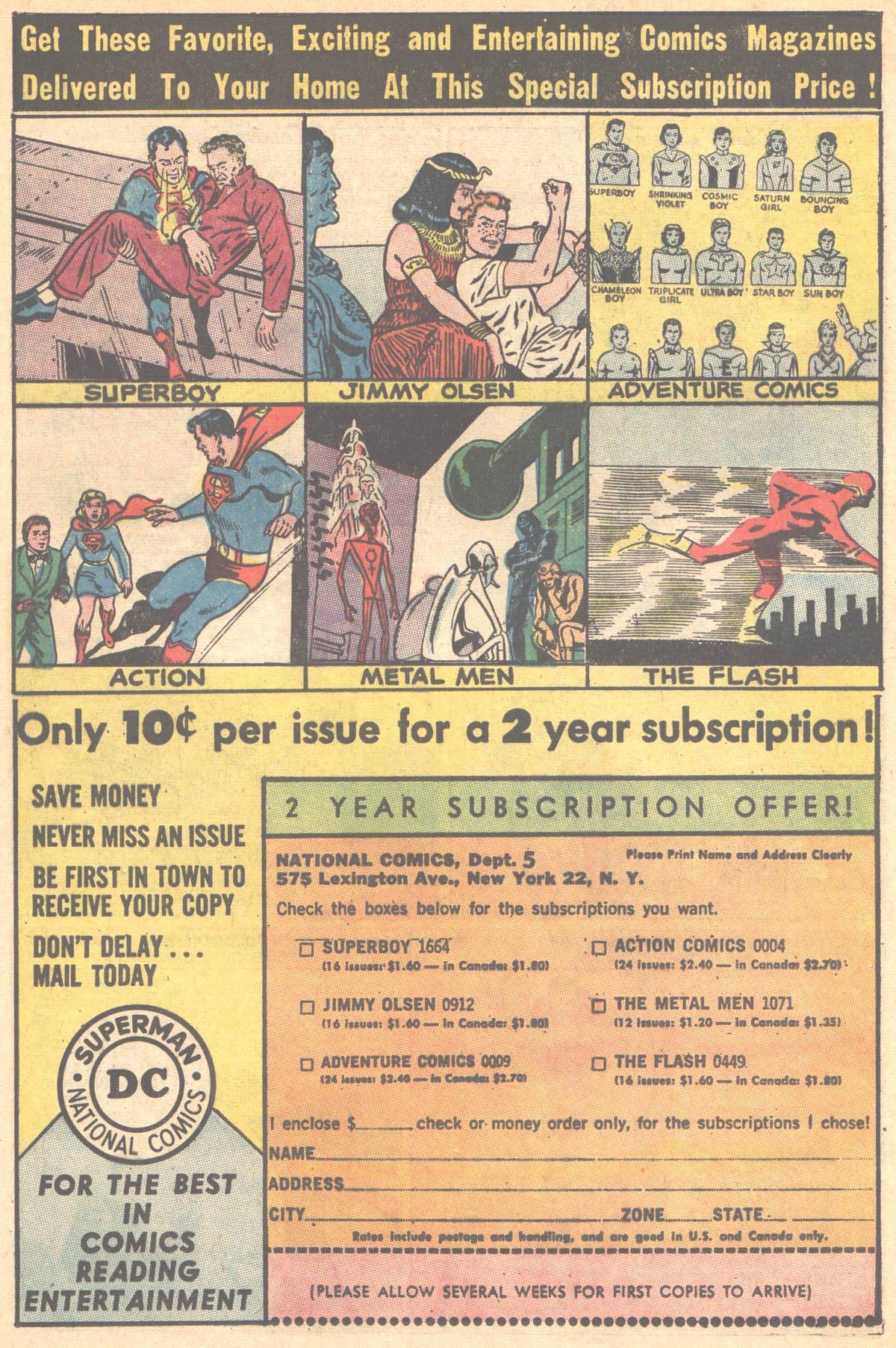 Read online Adventure Comics (1938) comic -  Issue #315 - 32