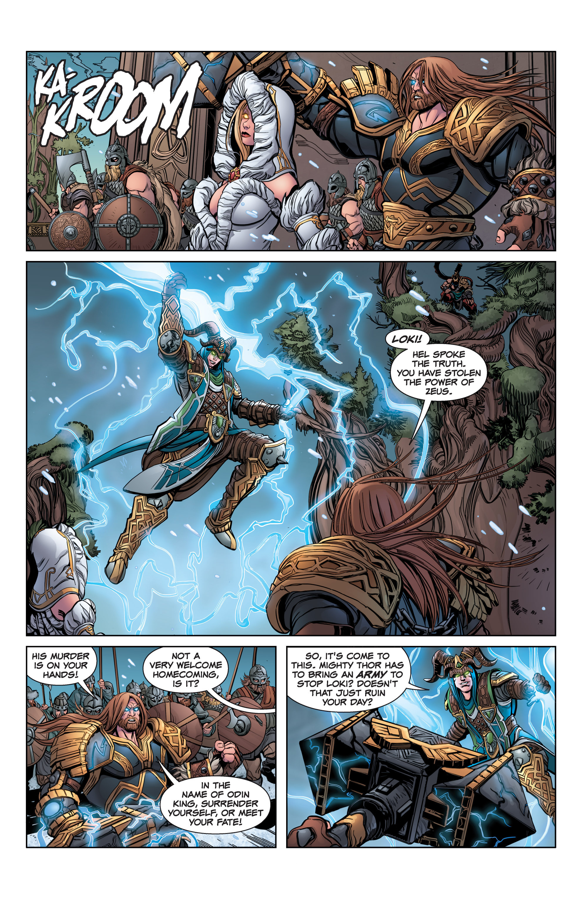 Read online SMITE: The Pantheon War comic -  Issue #3 - 9