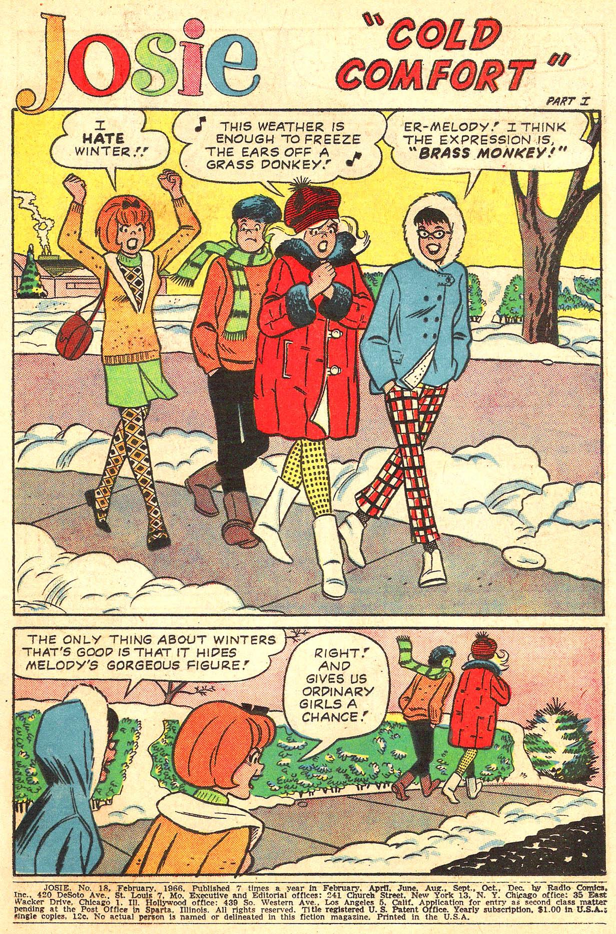 Read online She's Josie comic -  Issue #18 - 3