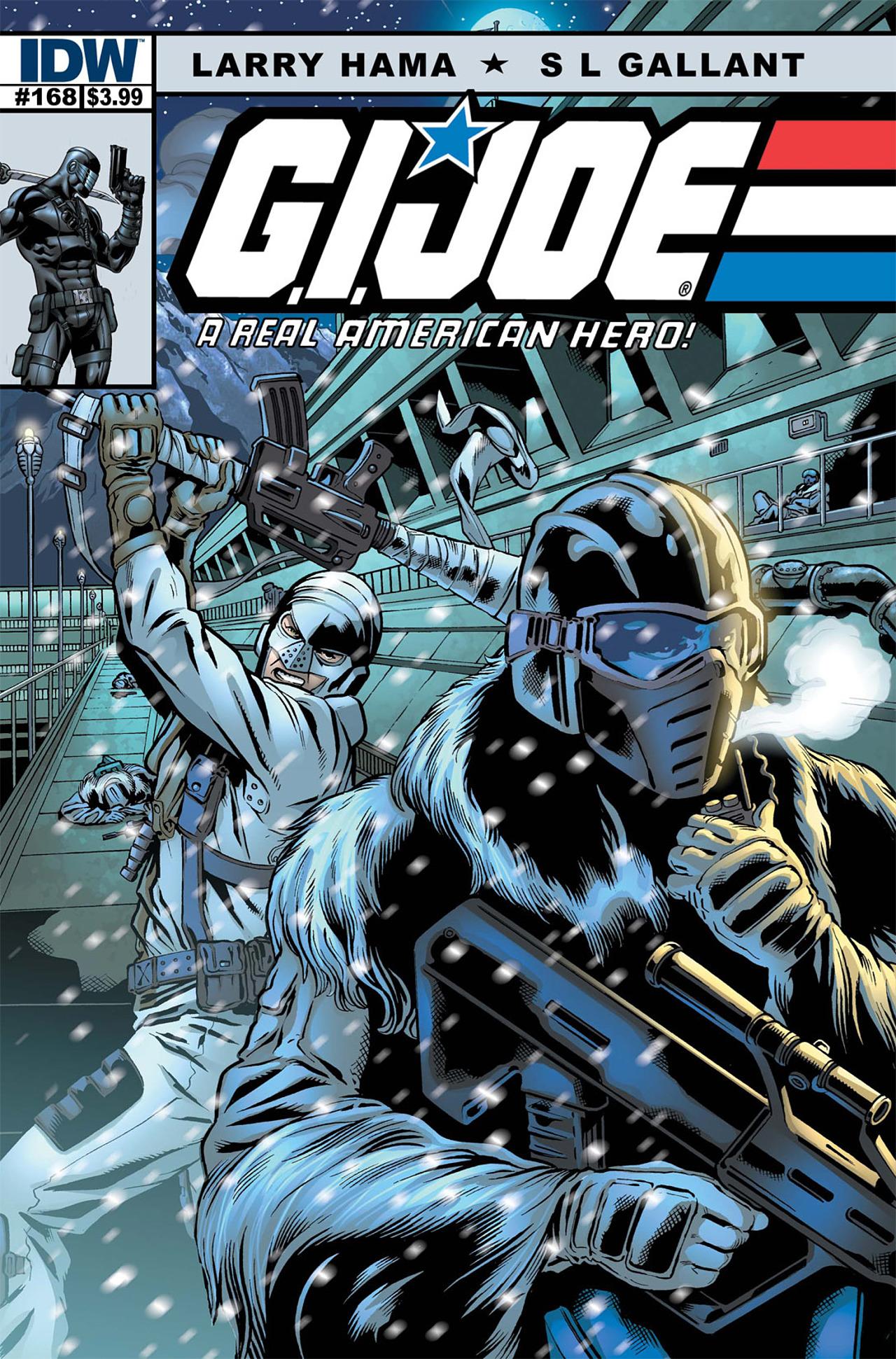 G.I. Joe: A Real American Hero 168 Page 0