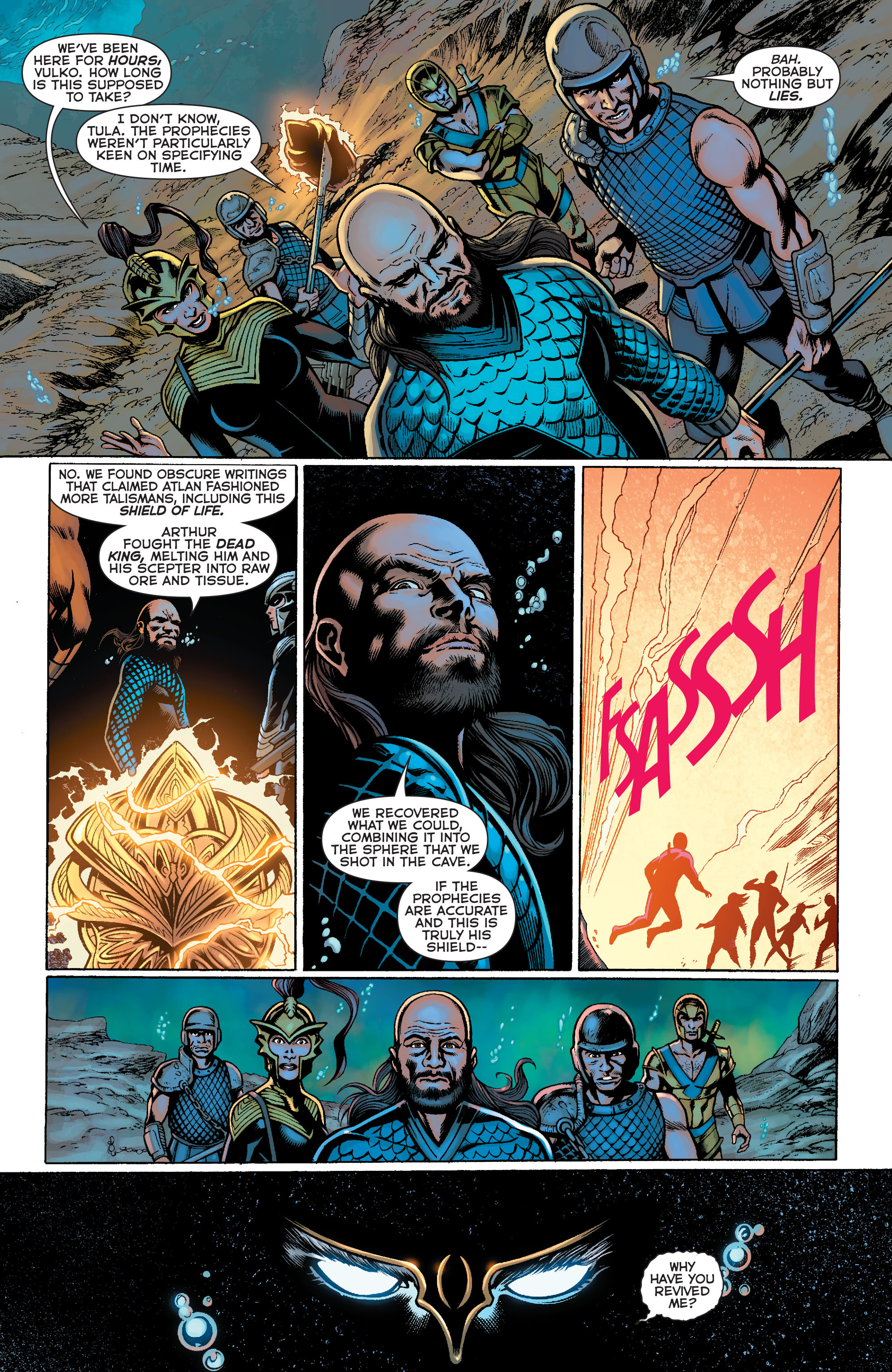 Read online Aquaman: Futures End comic -  Issue #Aquaman: Futures End Full - 9