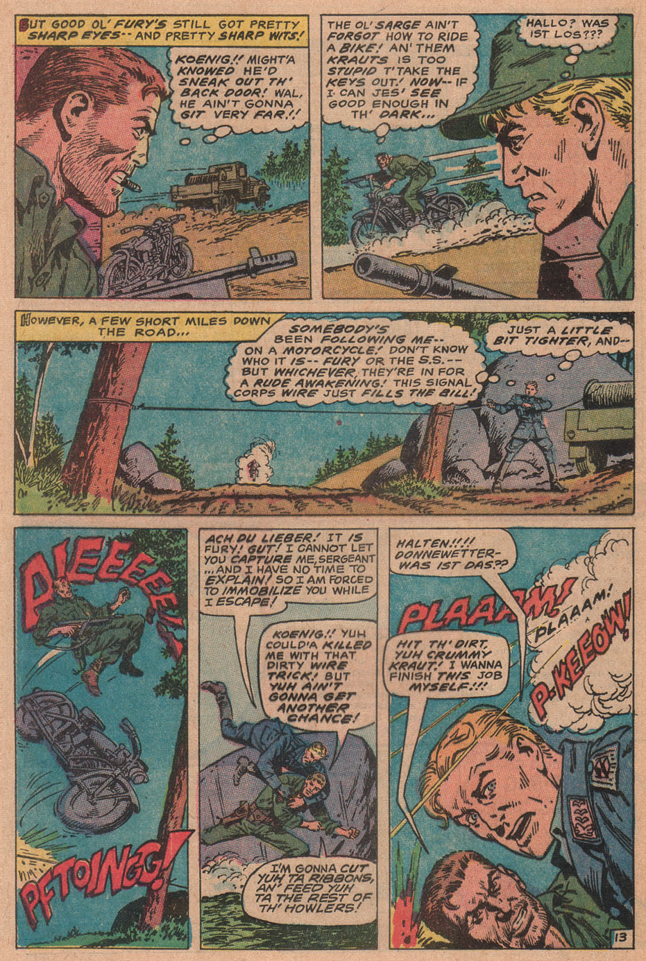 Read online Sgt. Fury comic -  Issue #77 - 20