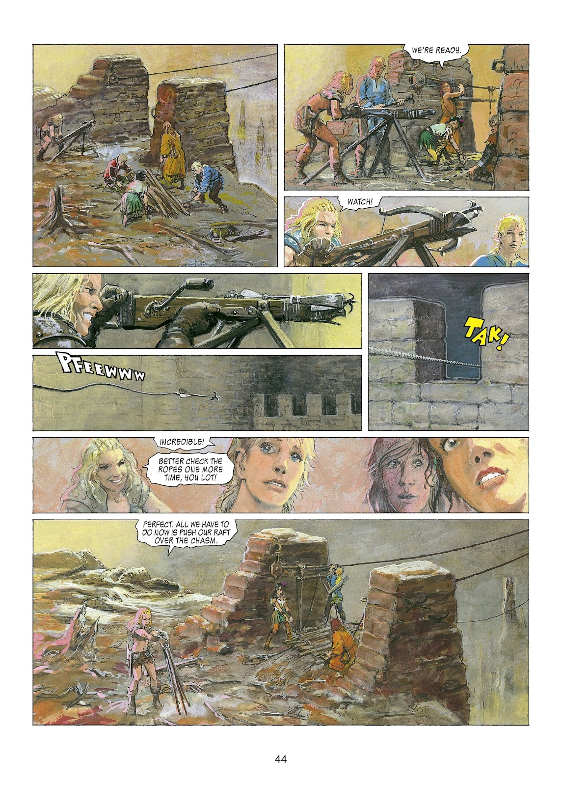 Read online Thorgal comic -  Issue #22 - 46