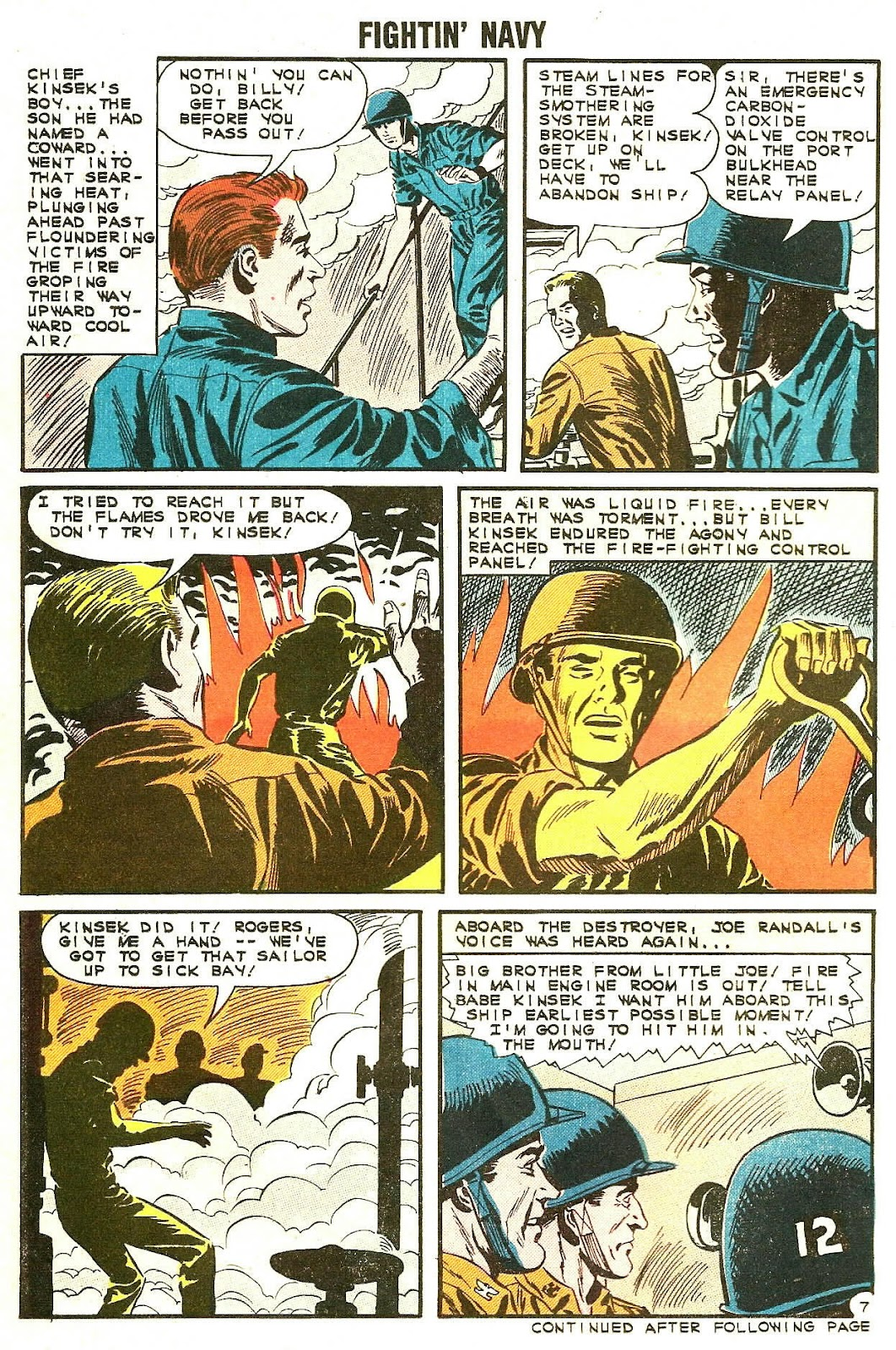 Read online Fightin' Navy comic -  Issue #107 - 14