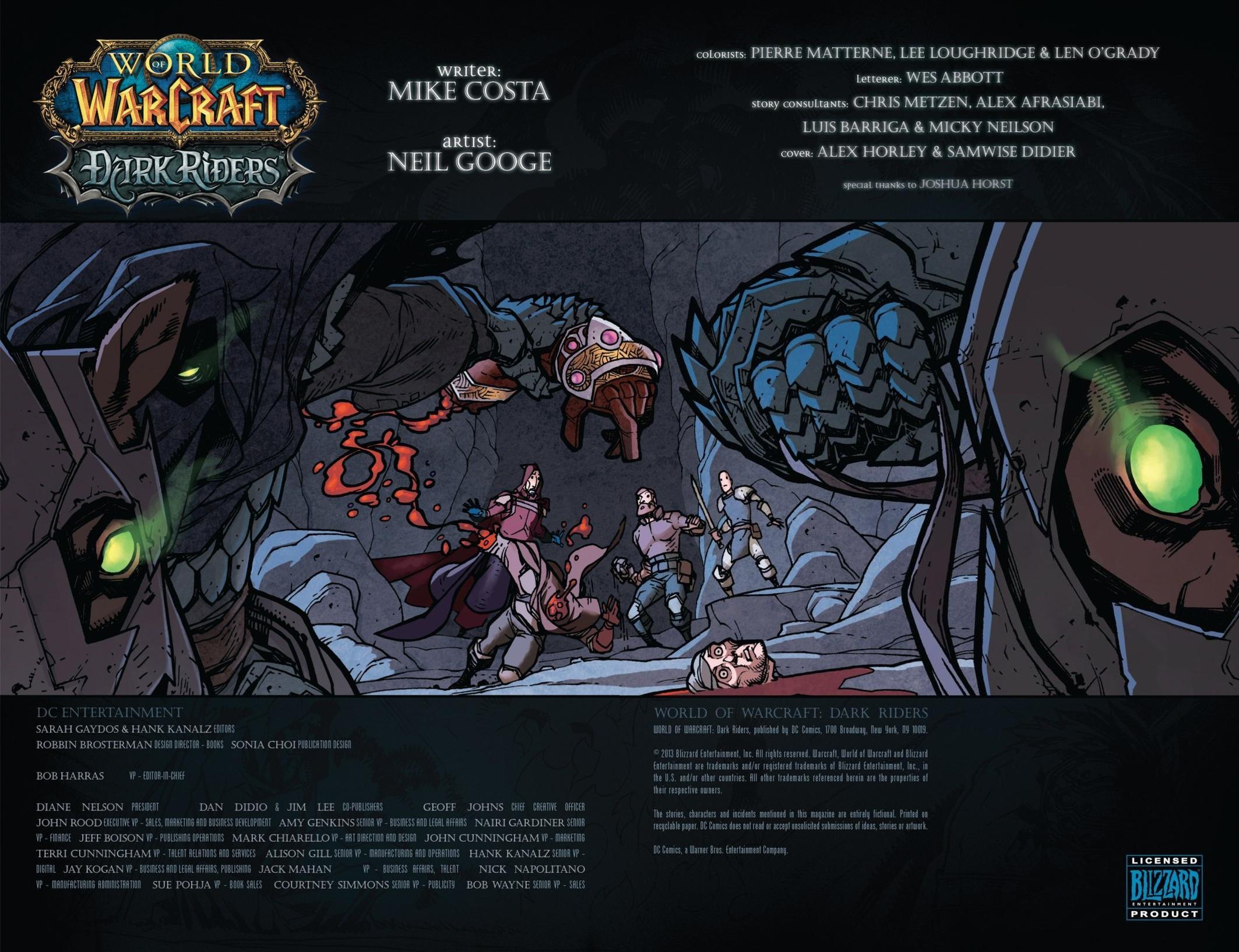 Read online World of Warcraft: Dark Riders comic -  Issue # Full - 3