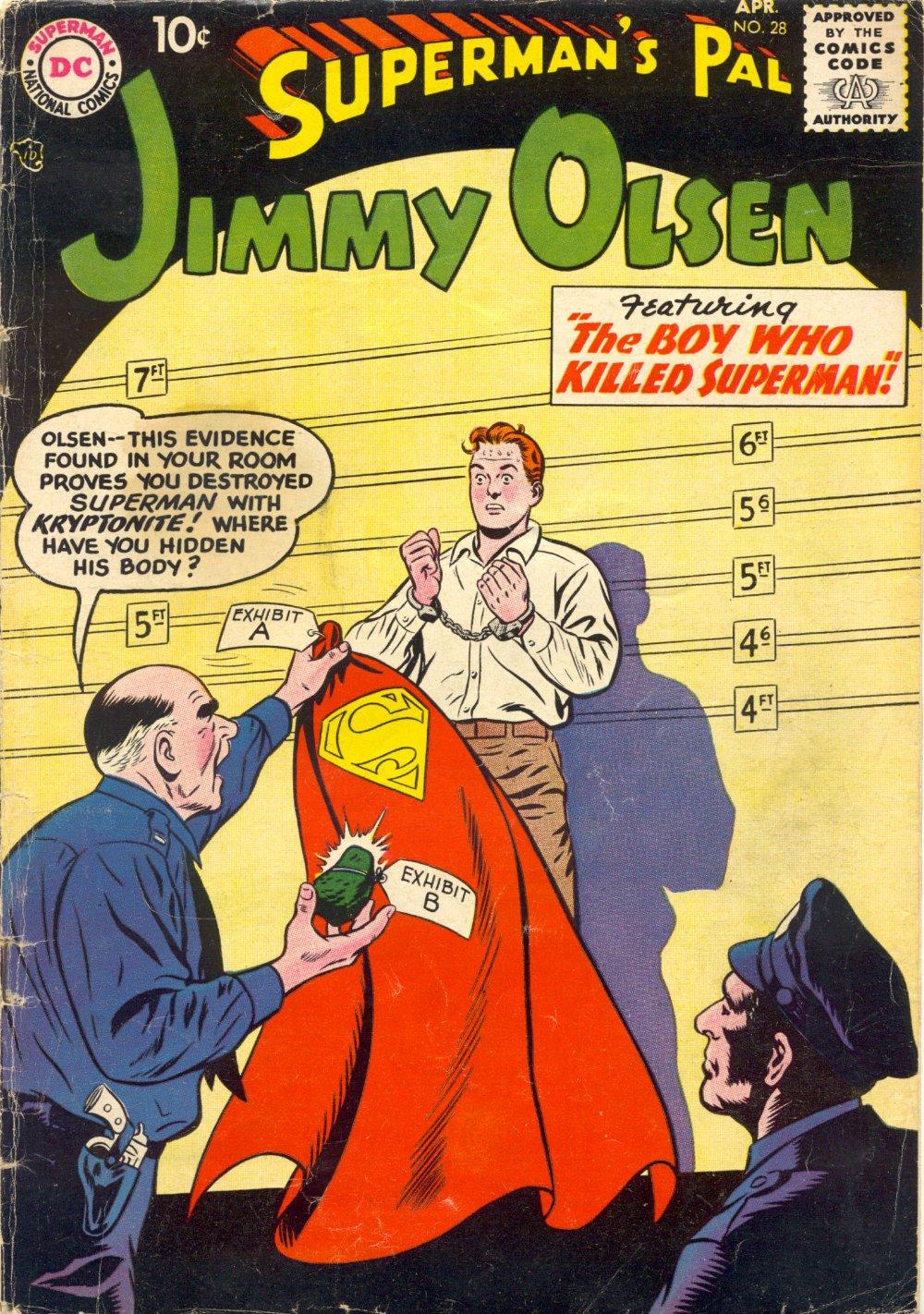 Supermans Pal Jimmy Olsen (1954) 28 Page 1