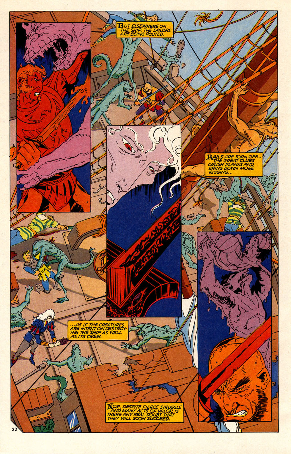 Read online Elric: Sailor on the Seas of Fate comic -  Issue #6 - 25