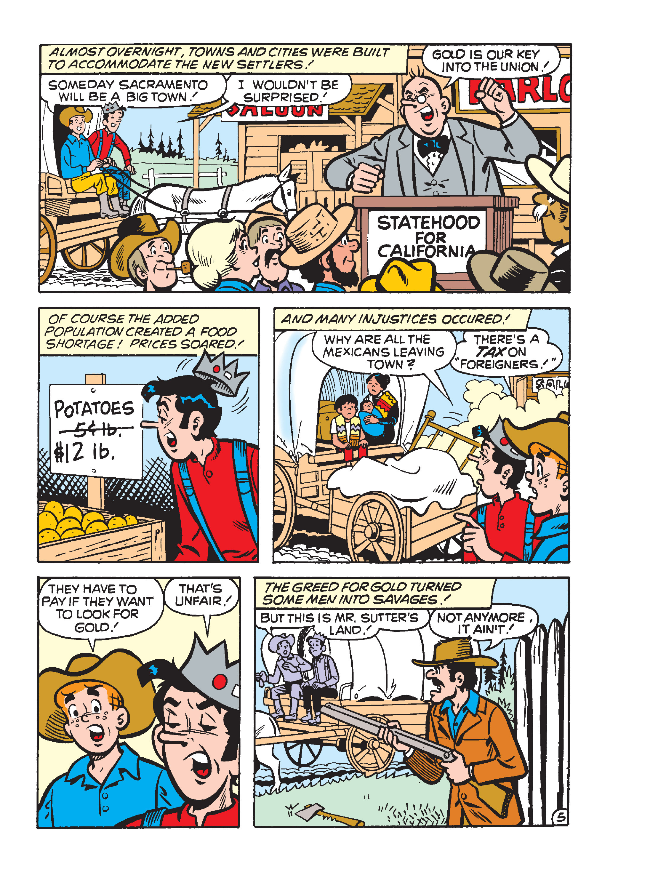 Read online Archie's Funhouse Double Digest comic -  Issue #15 - 117