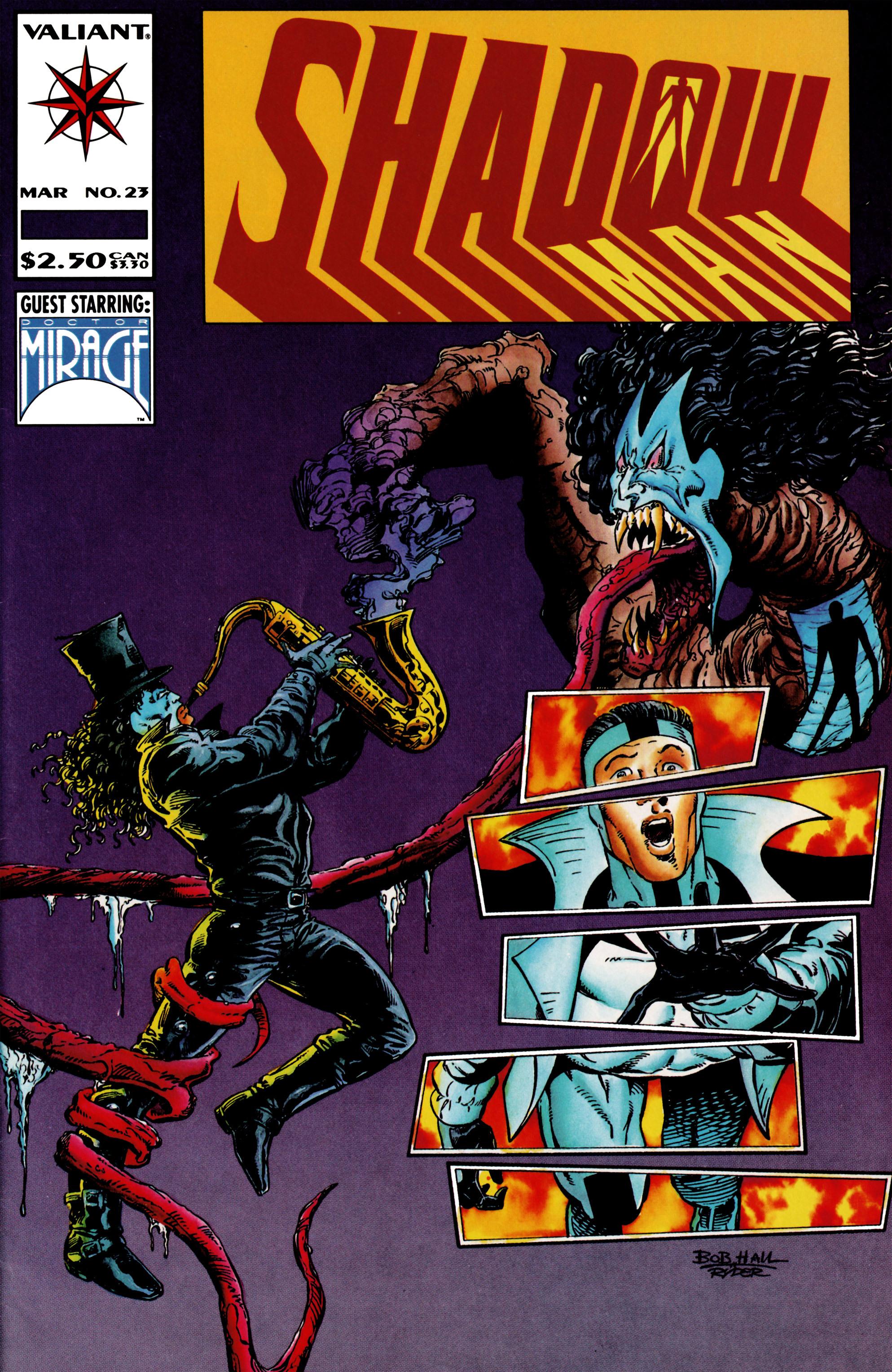 Read online Shadowman (1992) comic -  Issue #23 - 1