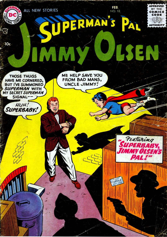 Supermans Pal Jimmy Olsen (1954) 18 Page 1
