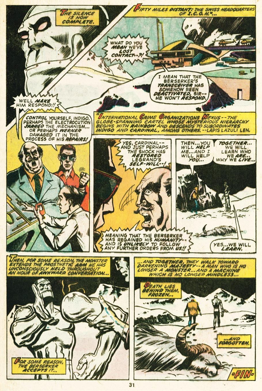 Frankenstein (1973) 17 Page 19