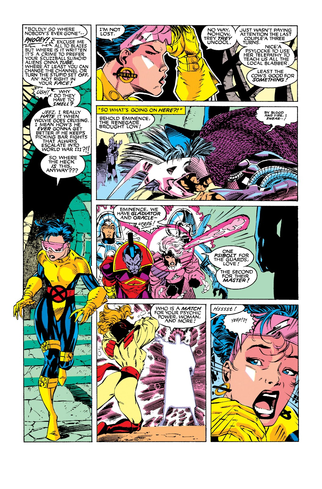 Uncanny X-Men (1963) issue 275 - Page 37