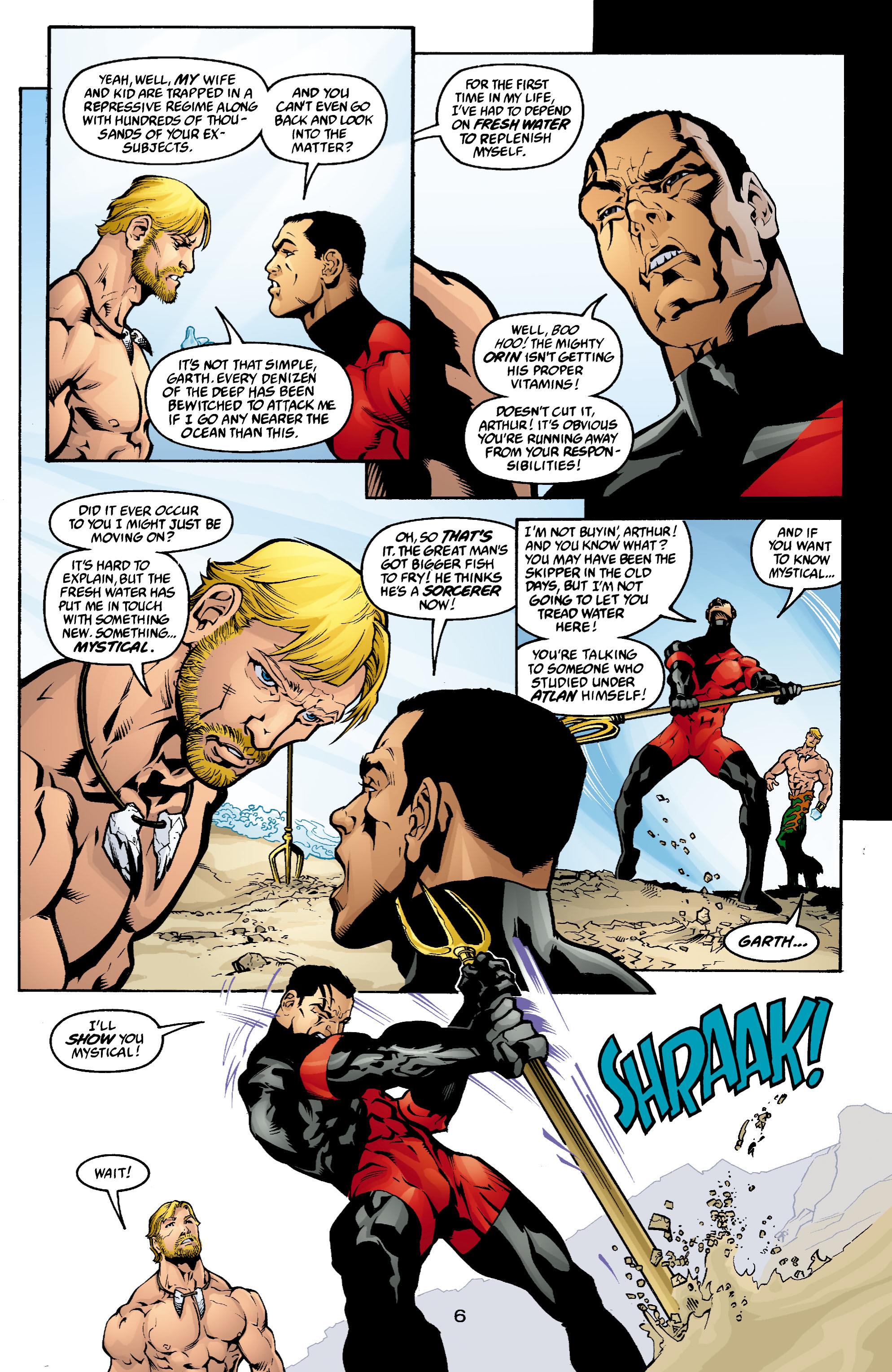 Read online Aquaman (2003) comic -  Issue #4 - 7