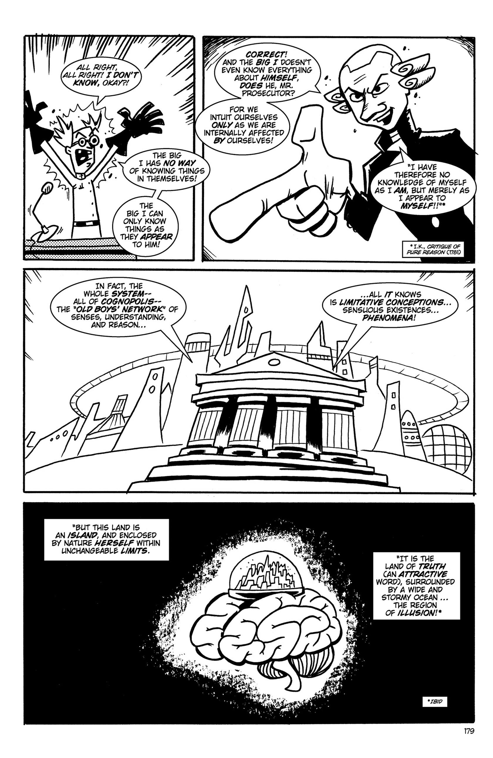 Read online Action Philosophers! comic -  Issue #Action Philosophers! TPB (Part 2) - 7
