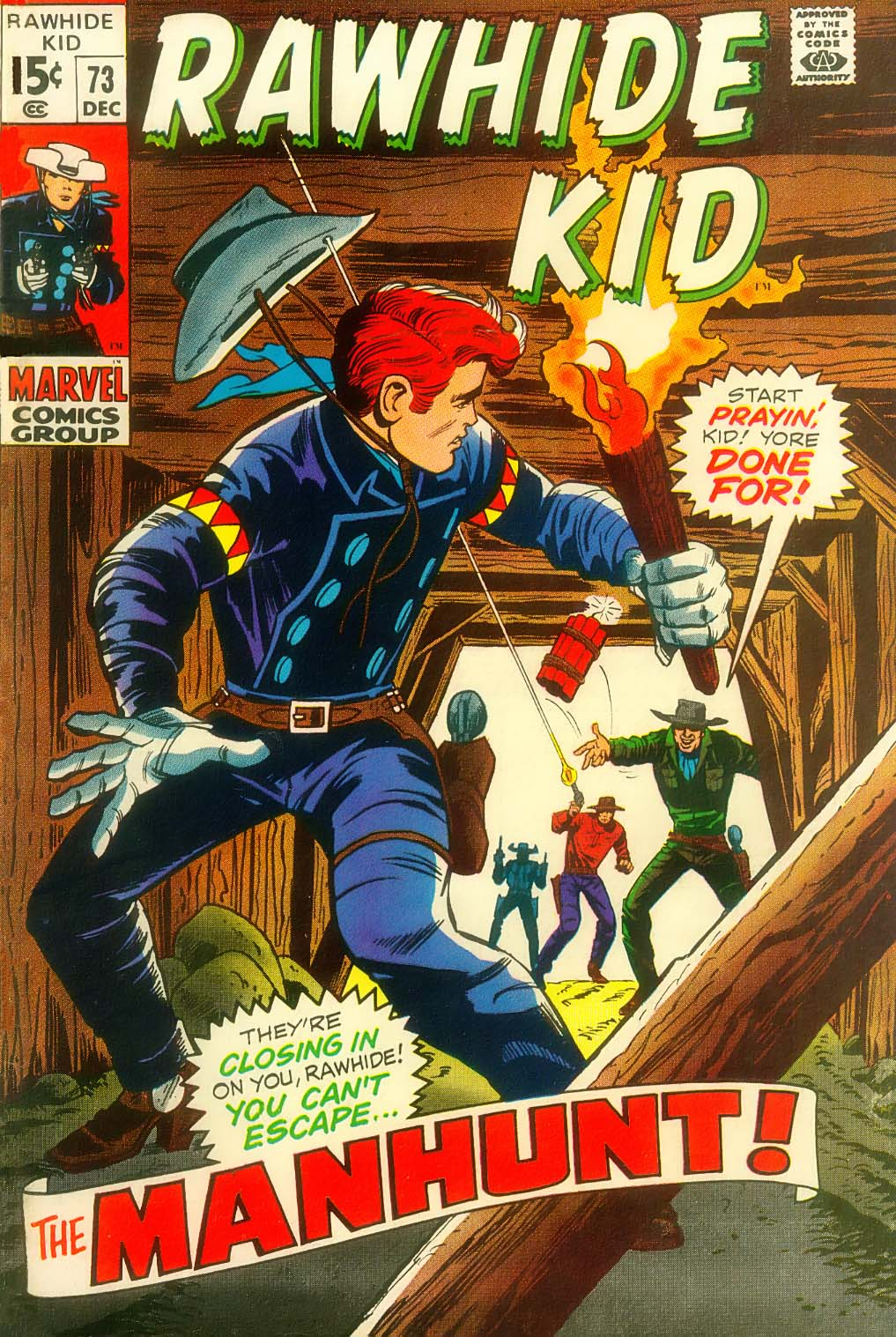 The Rawhide Kid (1955) issue 73 - Page 2