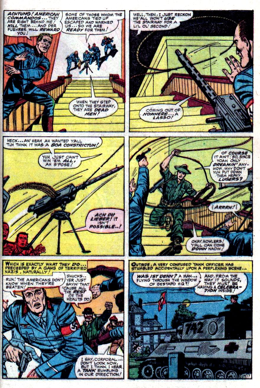 Read online Sgt. Fury comic -  Issue #31 - 25