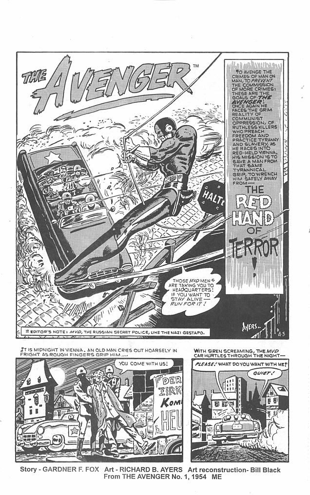 Read online Golden-Age Men of Mystery comic -  Issue #5 - 3