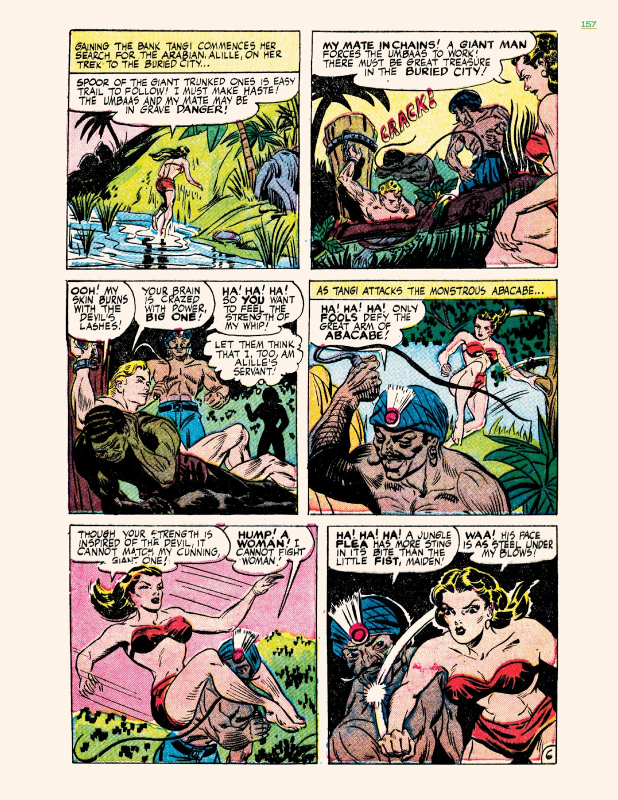 Read online Jungle Girls comic -  Issue # TPB (Part 2) - 57
