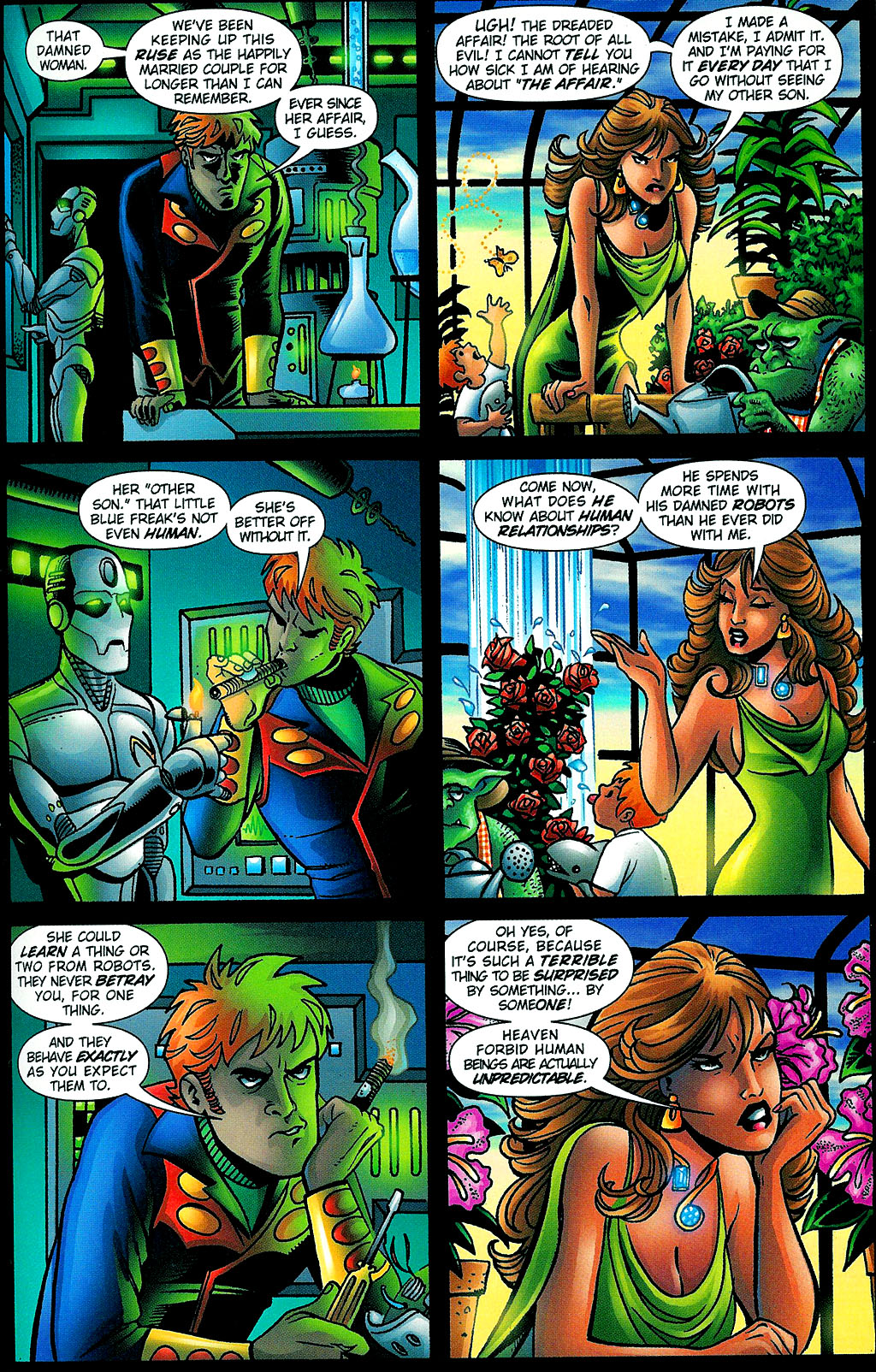 Read online Noble Causes (2002) comic -  Issue #1 - 23
