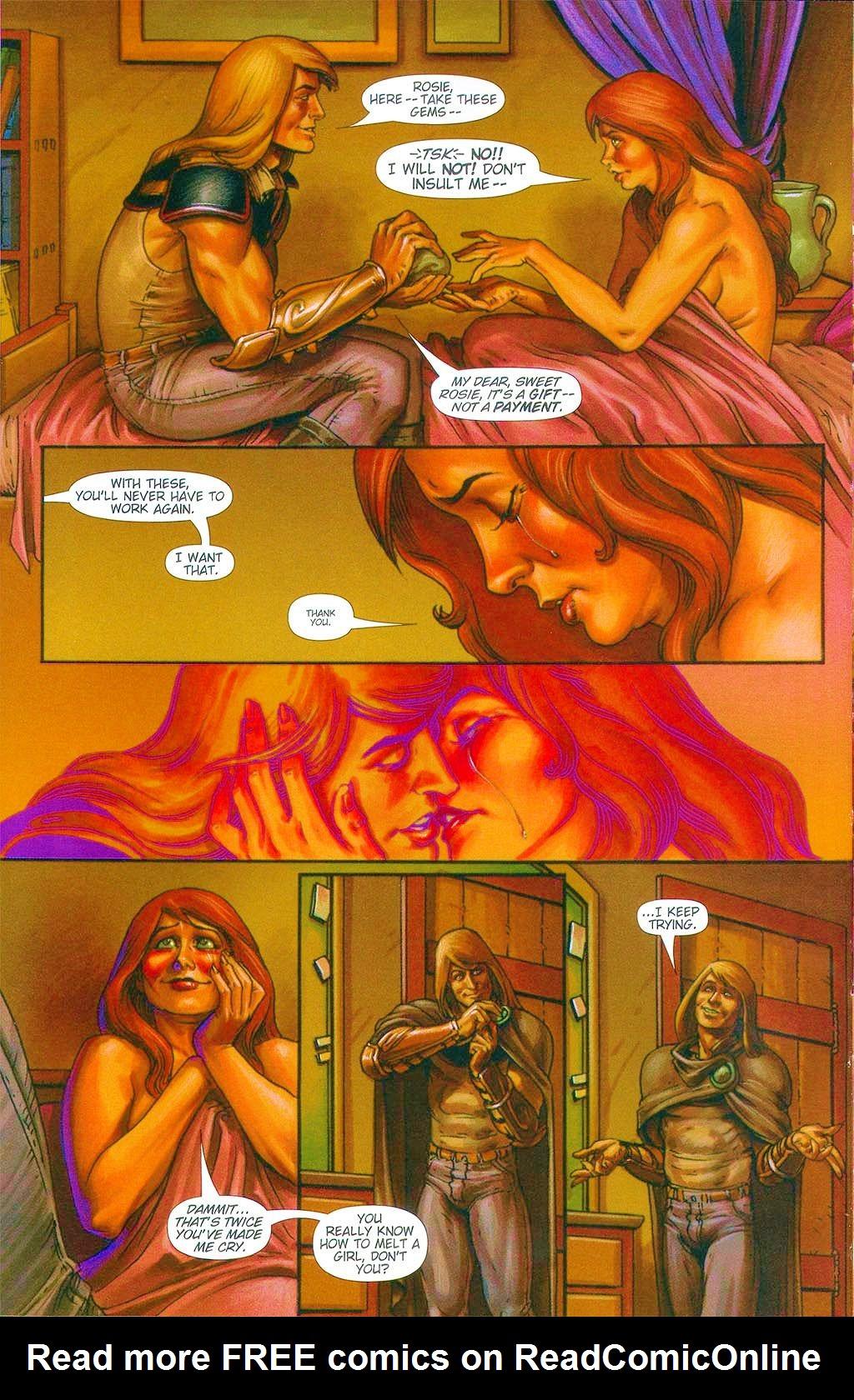 Read online Dawn: Three Tiers comic -  Issue #6 - 16