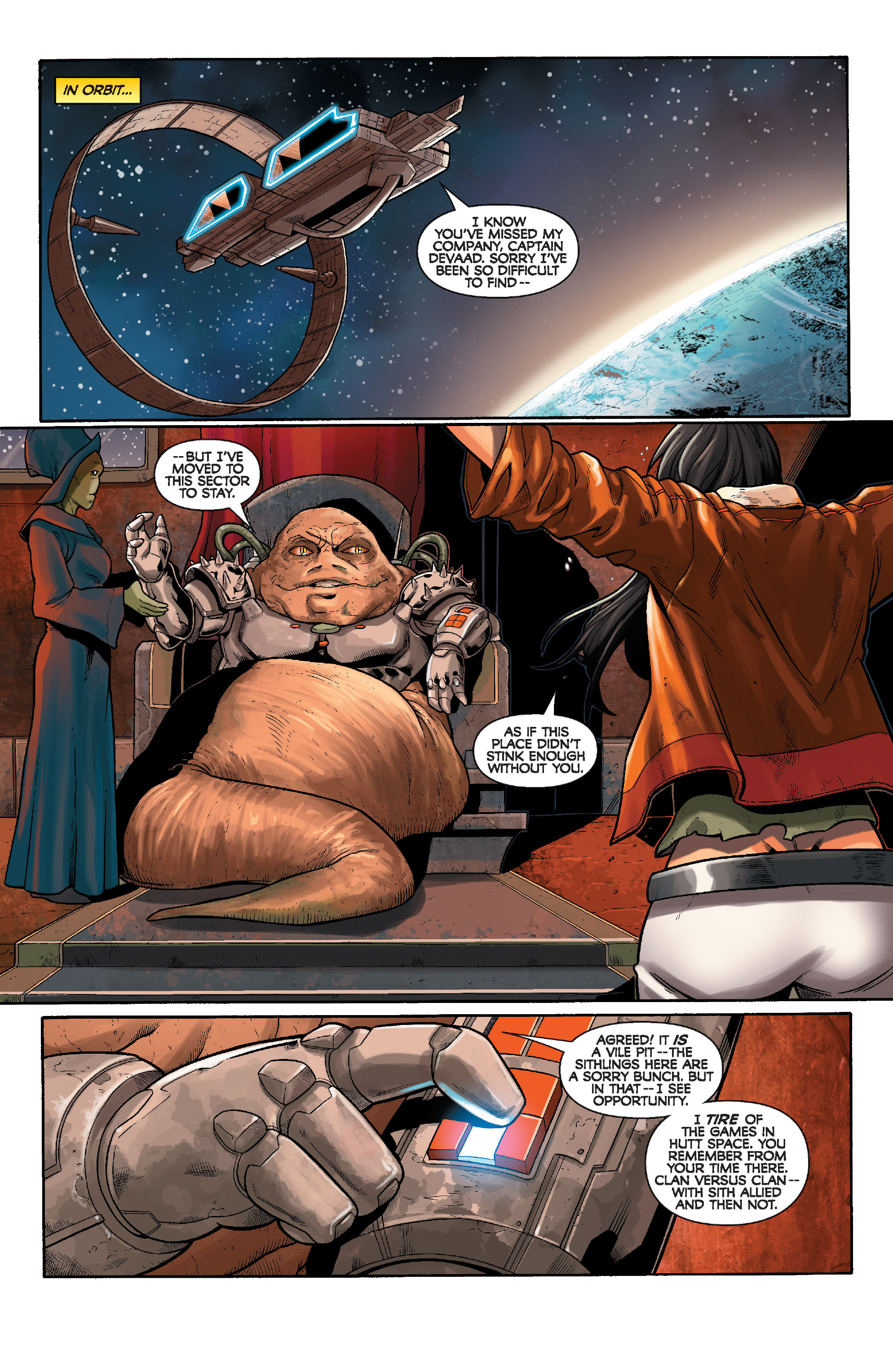 Read online Star Wars: Knight Errant - Deluge comic -  Issue #3 - 11