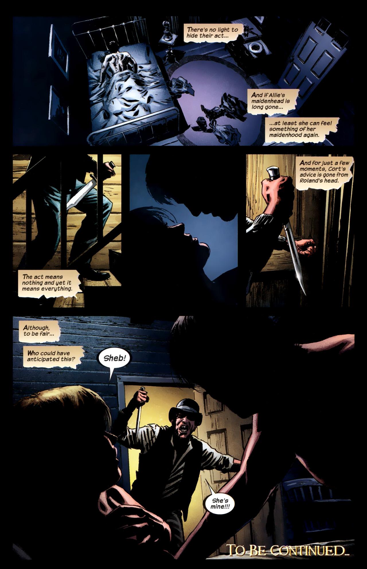 Read online Dark Tower: The Gunslinger - The Battle of Tull comic -  Issue #1 - 25