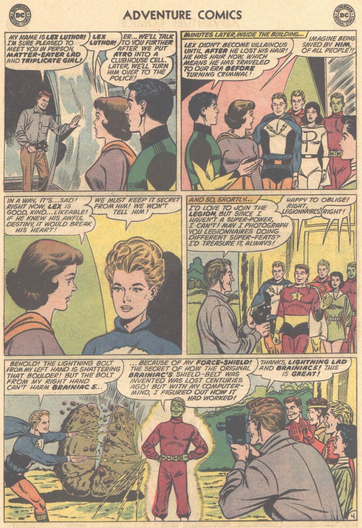 Read online Adventure Comics (1938) comic -  Issue #325 - 6